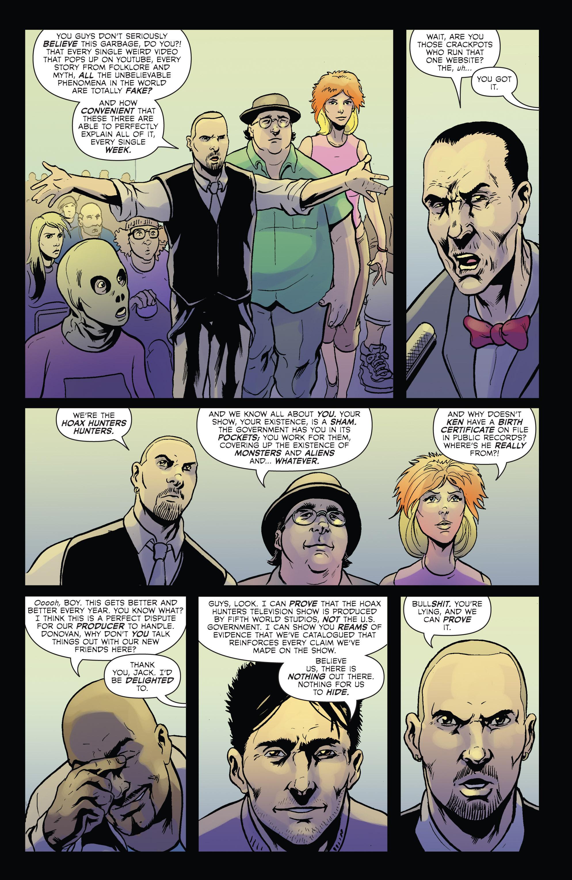 Read online Hoax Hunters (2012) comic -  Issue # TPB 2 - 14