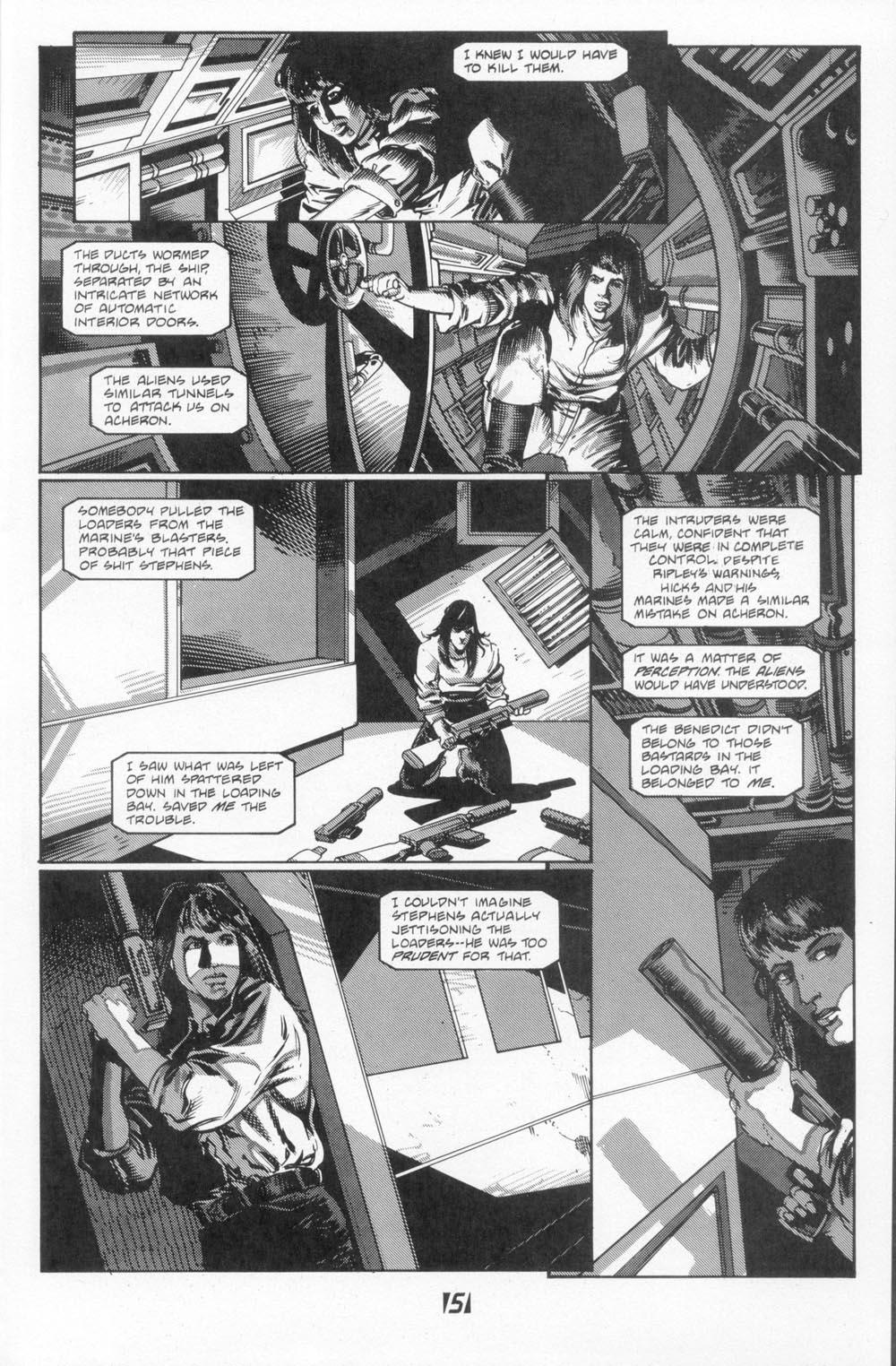 Read online Aliens (1988) comic -  Issue #5 - 7
