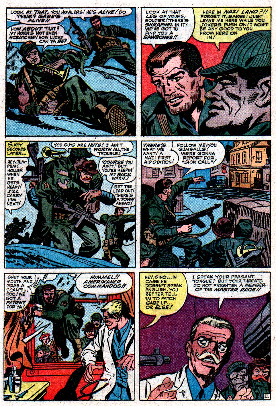 Read online Sgt. Fury comic -  Issue #8 - 16