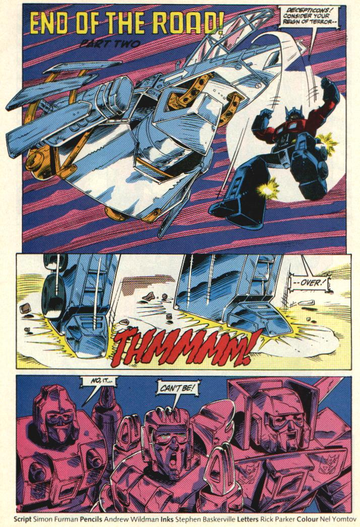 The Transformers (UK) 332 Page 2