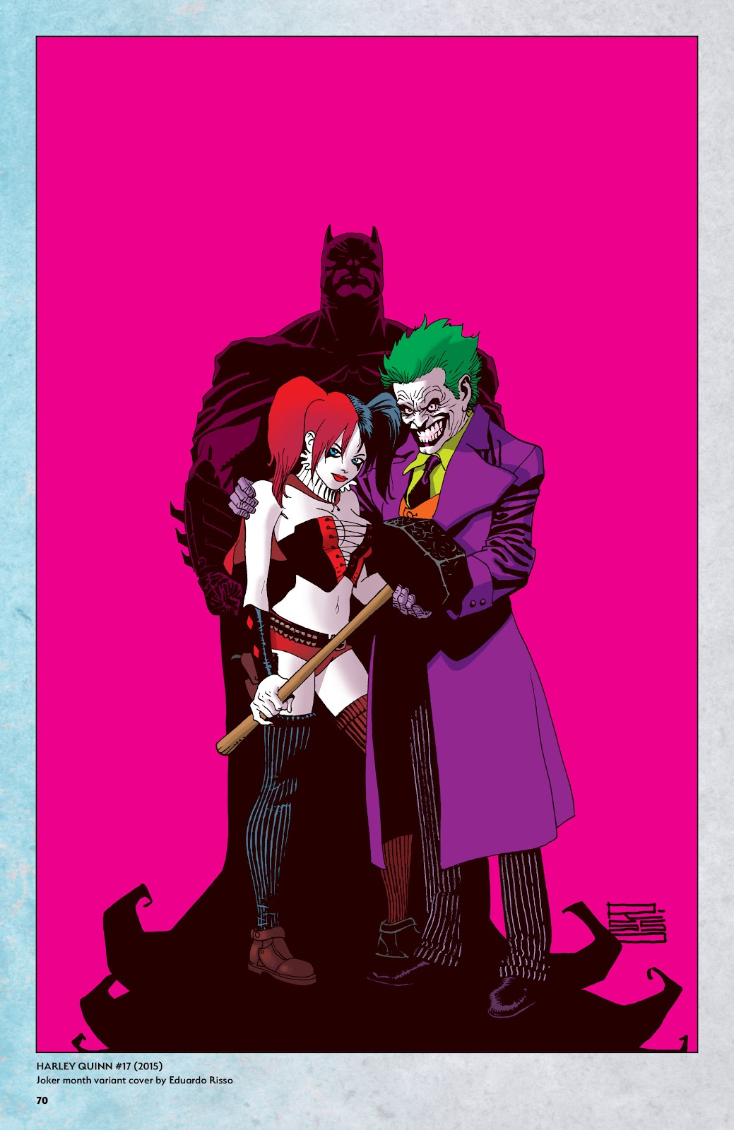 Read online Harley Quinn: A Rogue's Gallery―The Deluxe Cover Art Collection comic -  Issue # TPB (Part 1) - 67