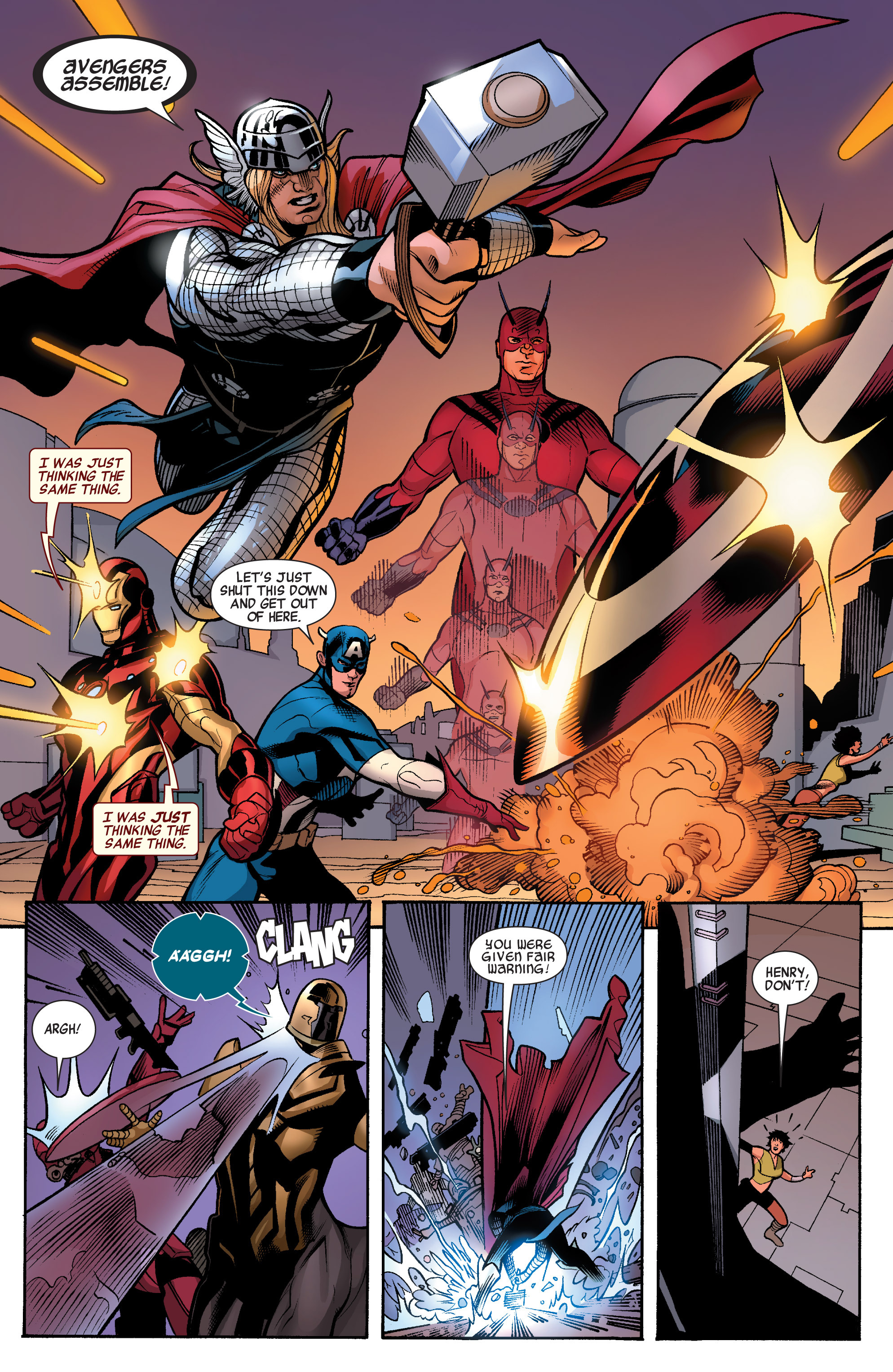 Read online Avengers (2010) comic -  Issue #33 - 6