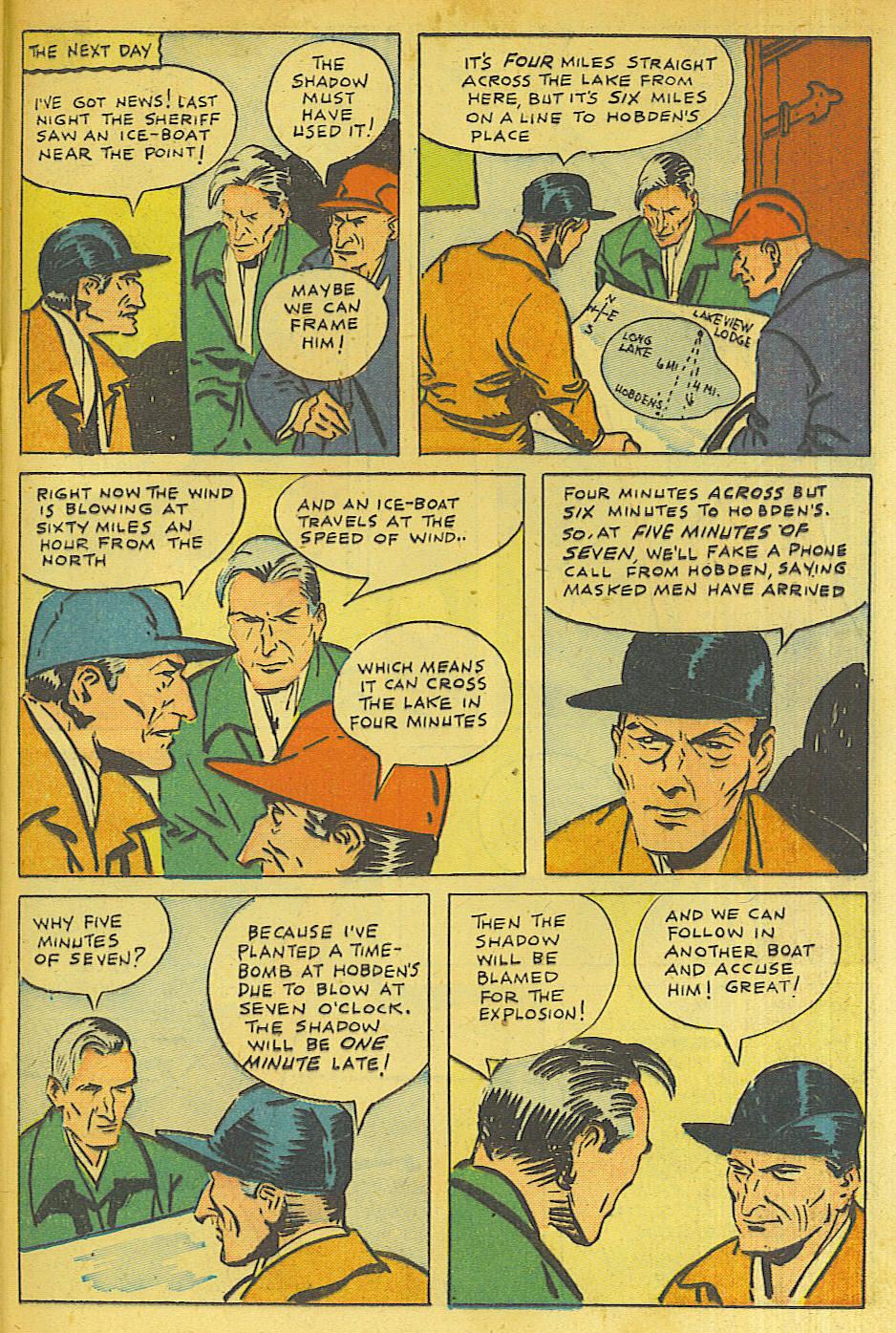 Read online Shadow Comics comic -  Issue #63 - 31