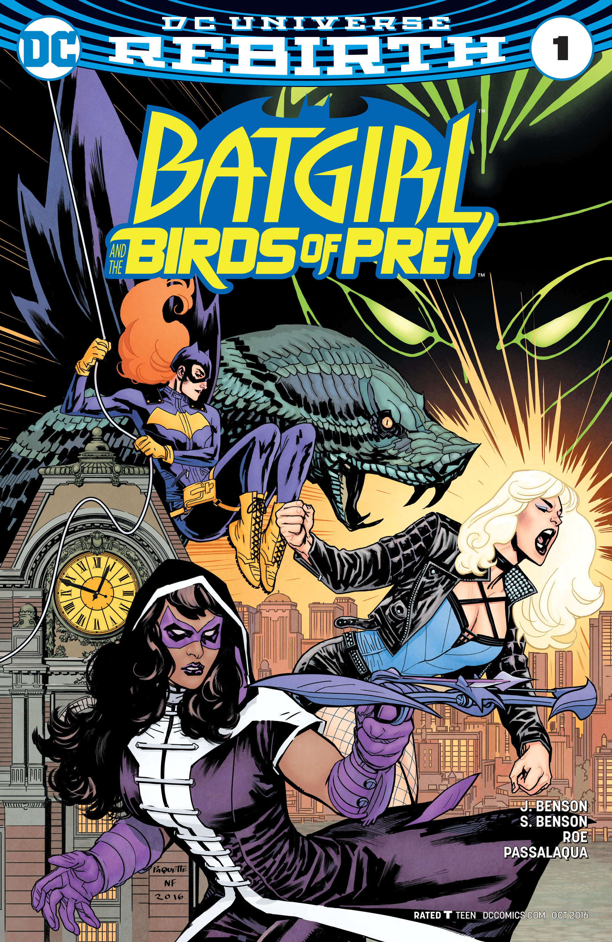 Batgirl and the Birds of Prey 1 Page 1