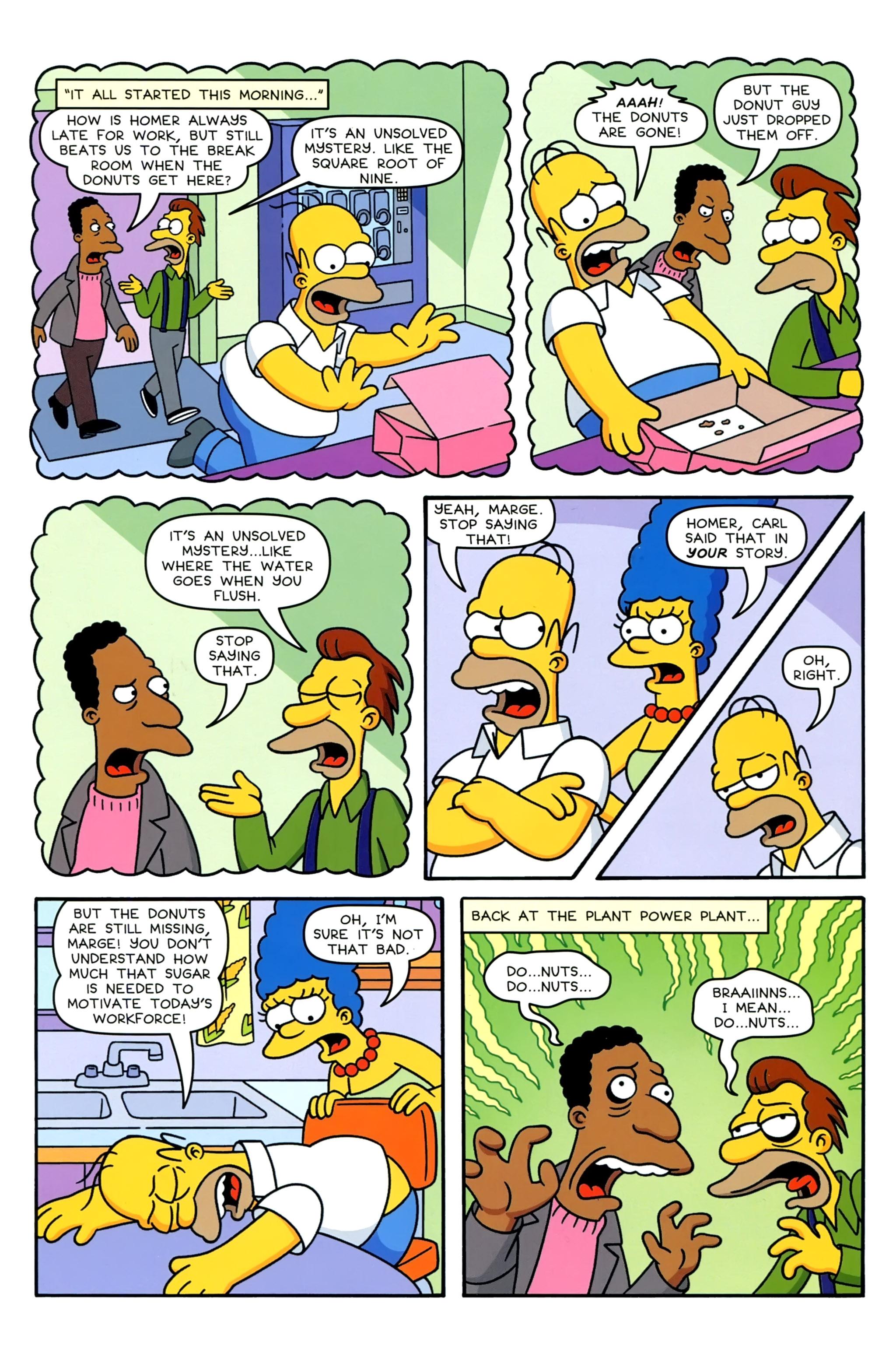 Read online Simpsons Comics comic -  Issue #230 - 14