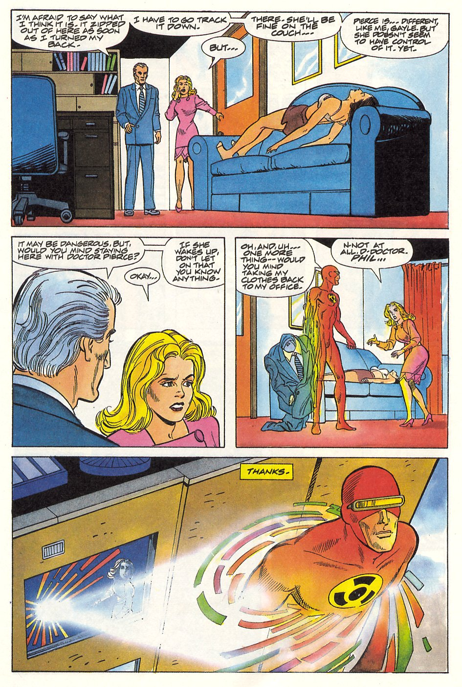 Read online Solar, Man of the Atom comic -  Issue #9 - 11