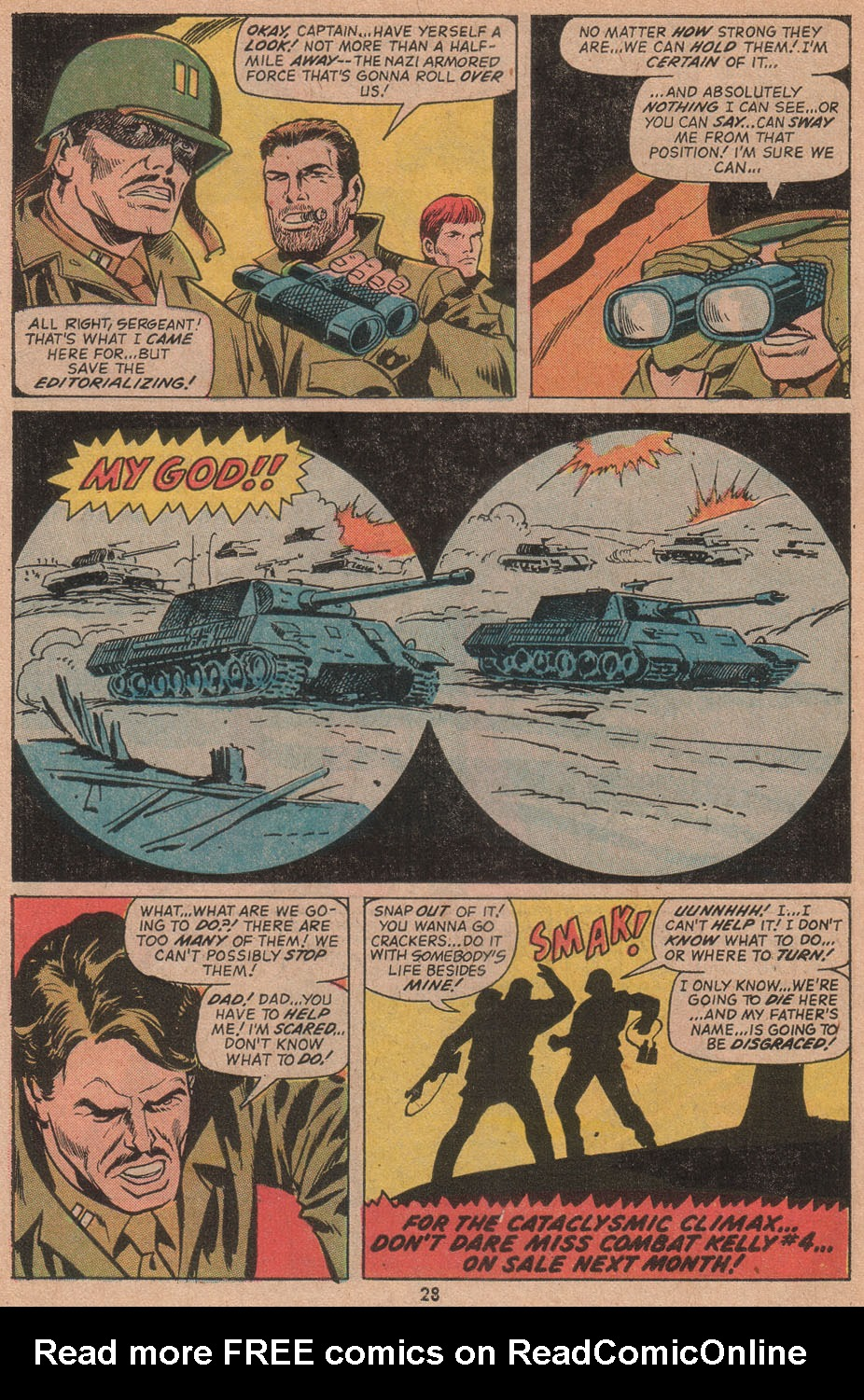 Read online Sgt. Fury comic -  Issue #104 - 30