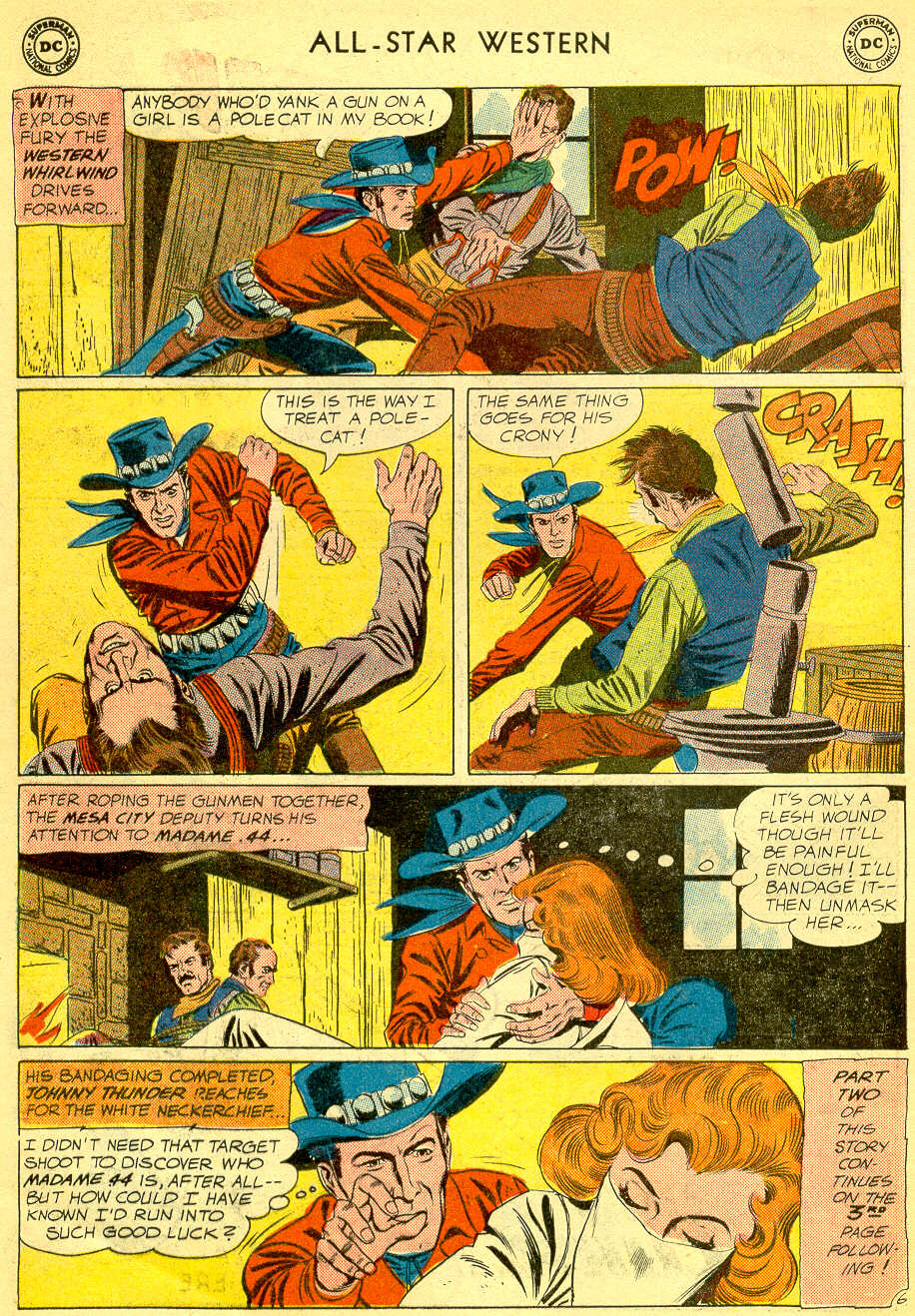 Read online All-Star Western (1951) comic -  Issue #118 - 8