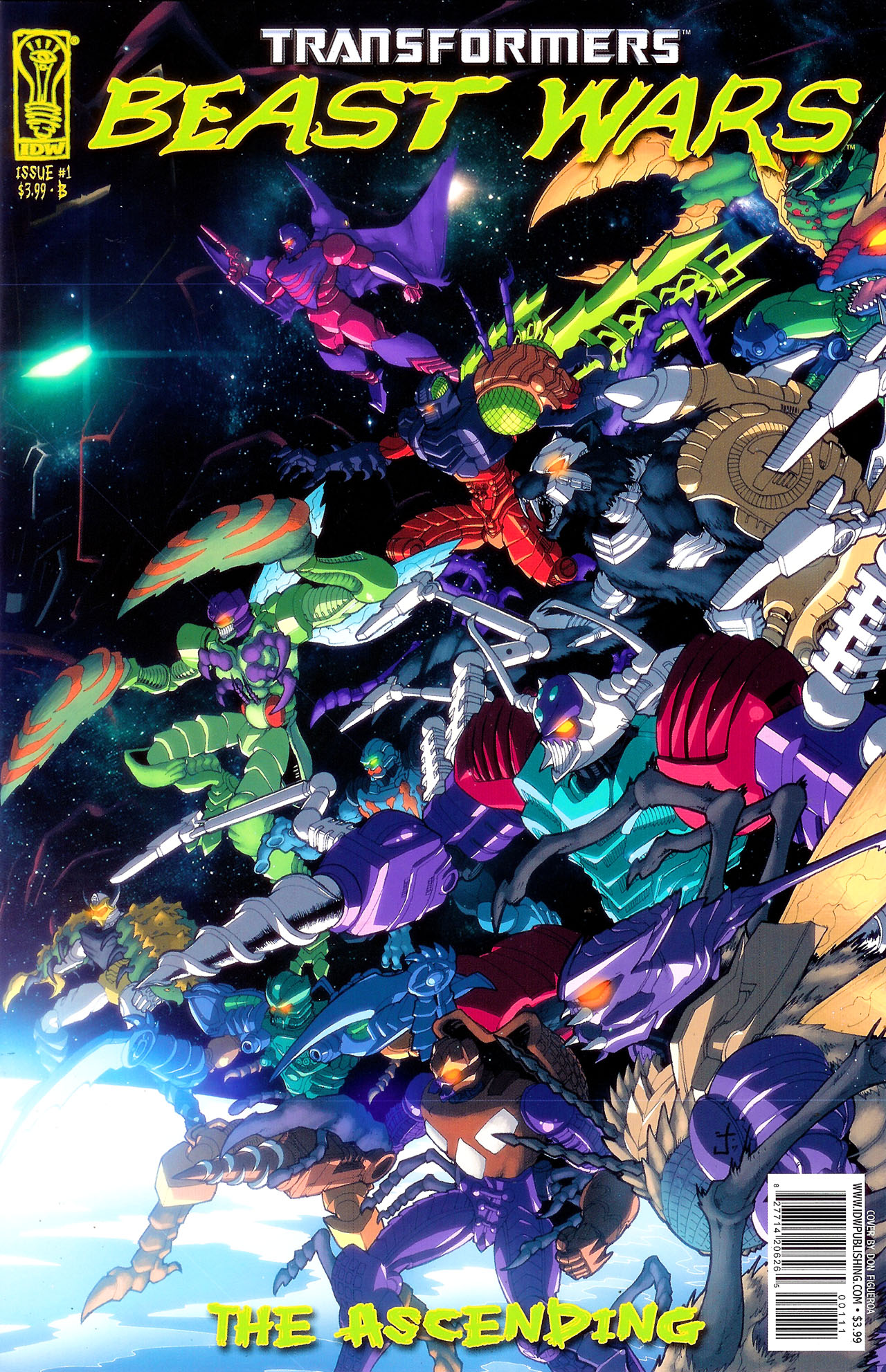 Read online Transformers: Beast Wars: The Ascending comic -  Issue #1 - 2