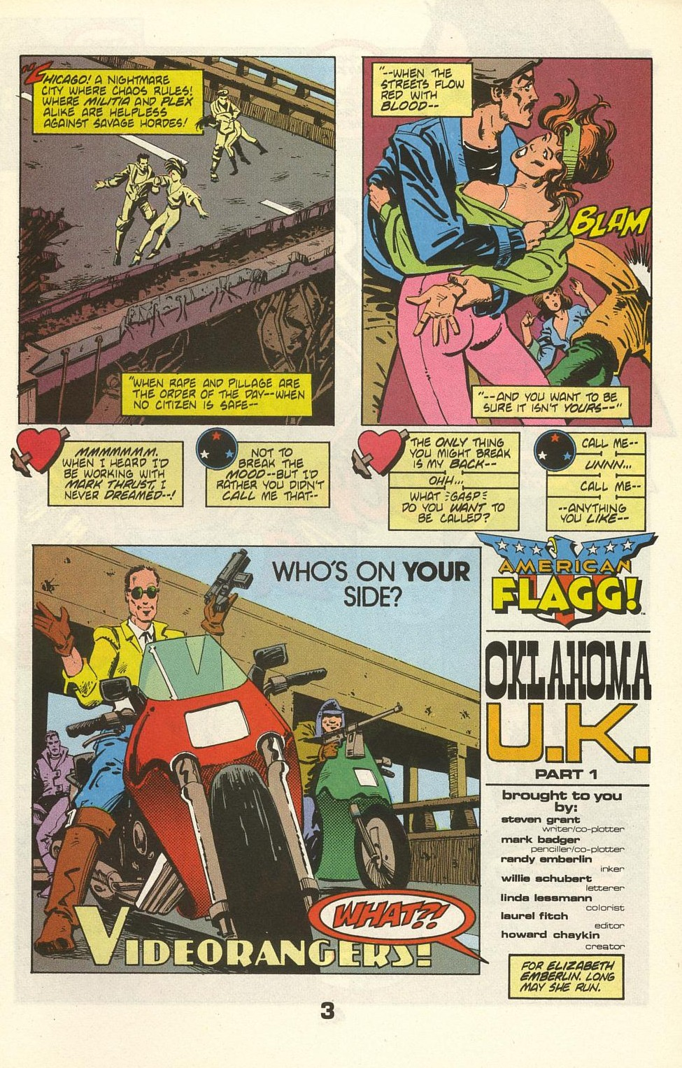 Read online American Flagg! comic -  Issue #35 - 5