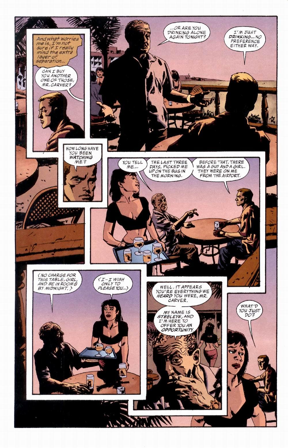 Read online Sleeper comic -  Issue #2 - 6