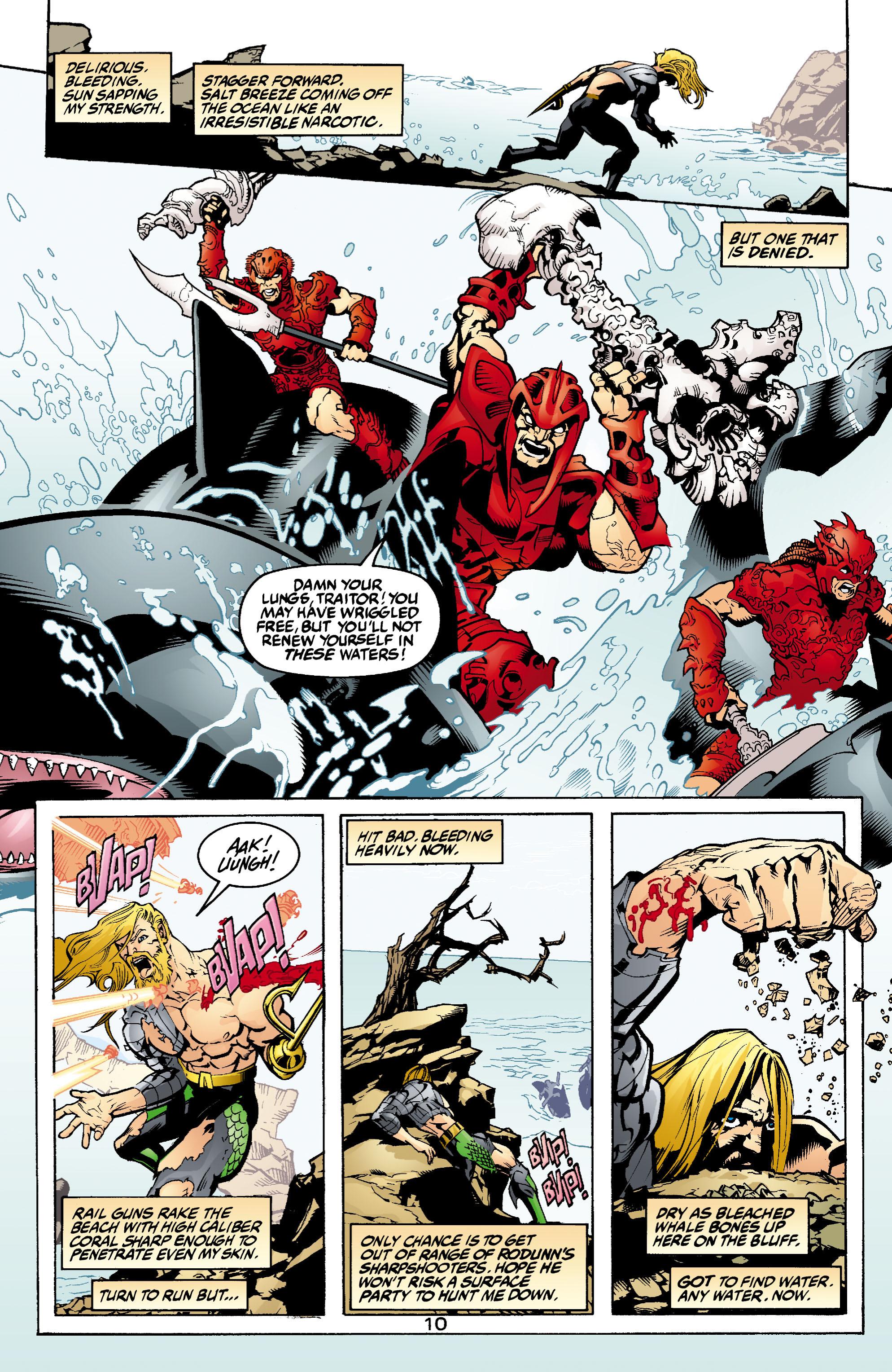 Read online Aquaman (2003) comic -  Issue #1 - 11