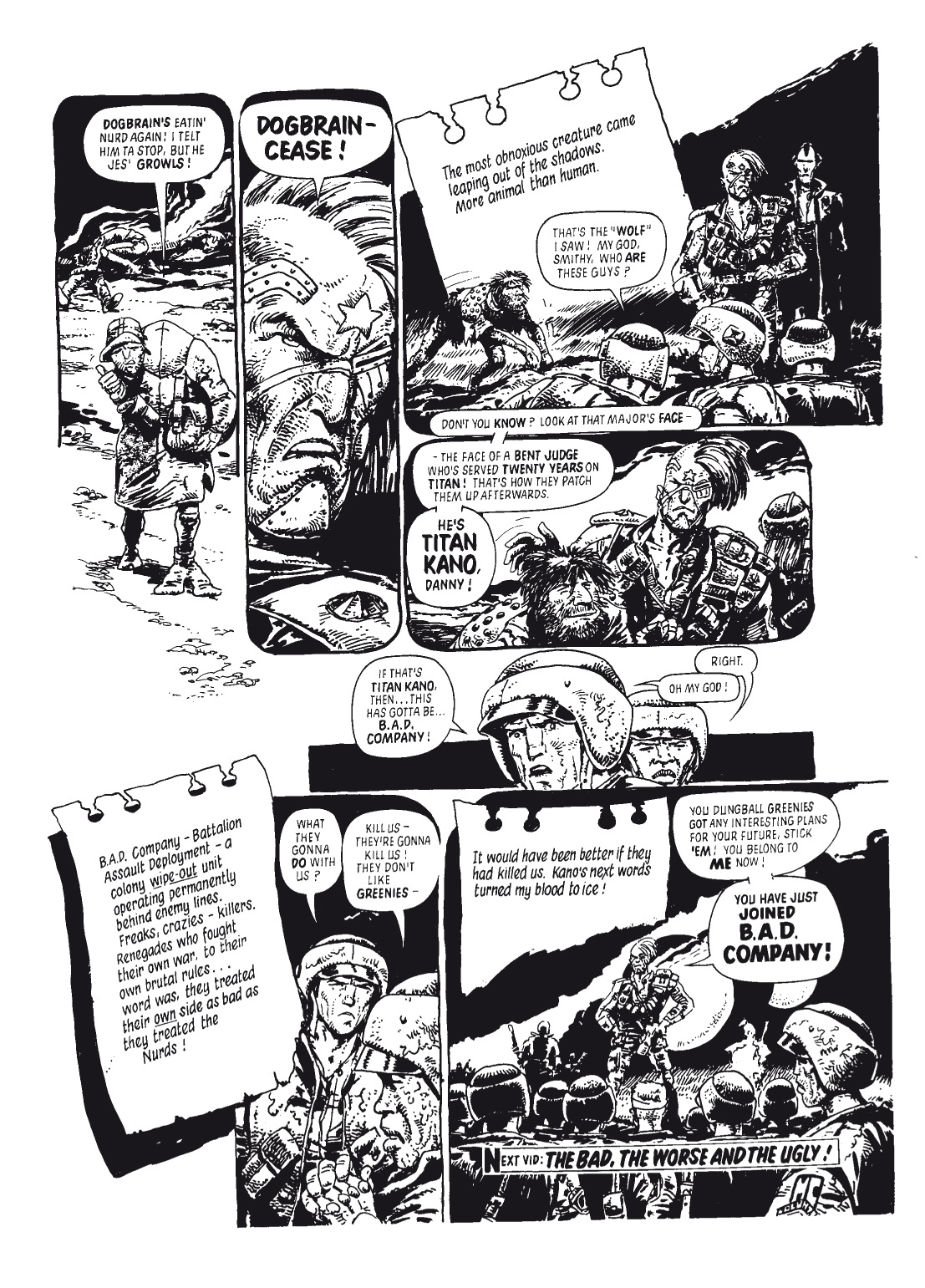 Read online The Complete Bad Company comic -  Issue # TPB - 365