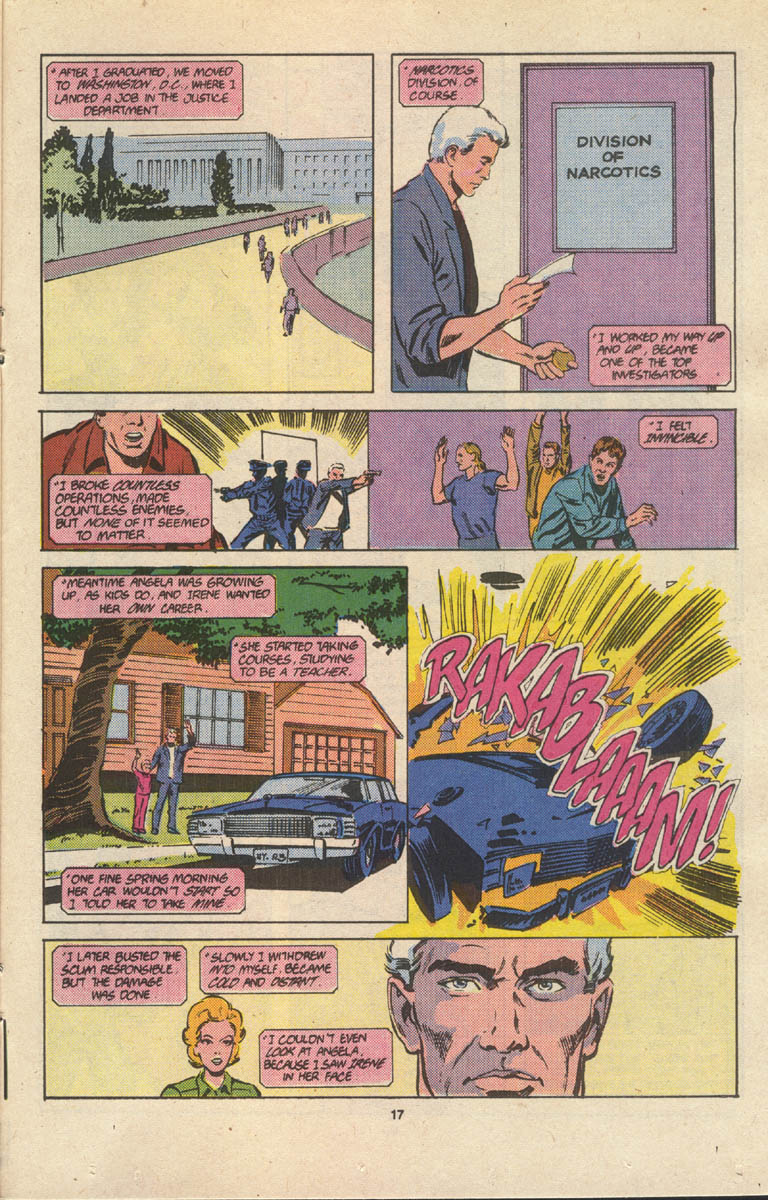 Read online Justice (1986) comic -  Issue #17 - 18