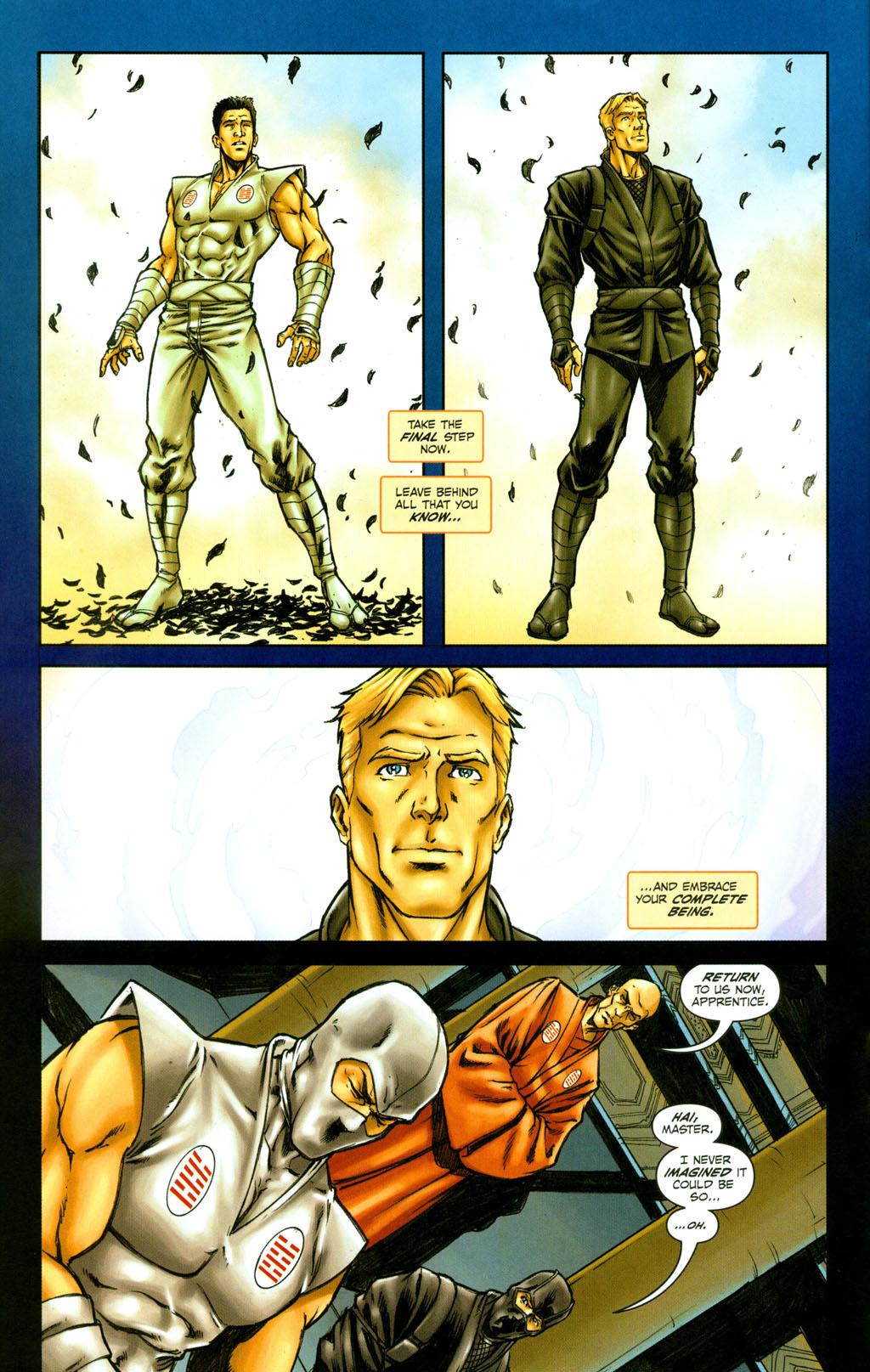 Read online Snake Eyes: Declassified comic -  Issue #4 - 13