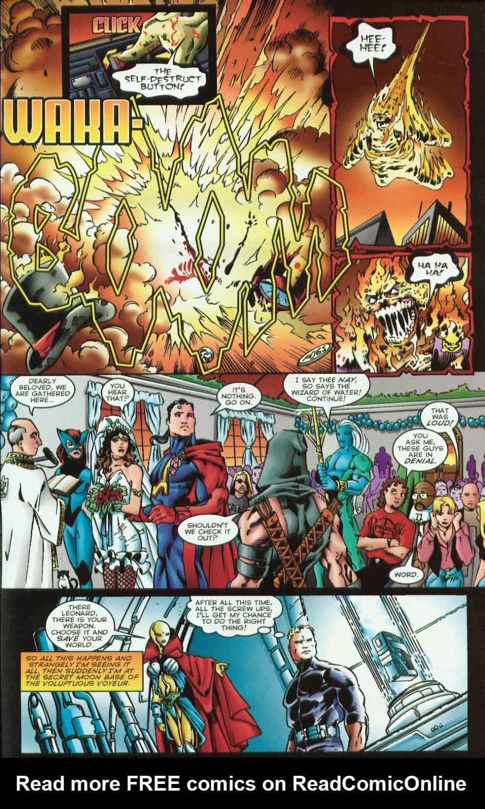 Read online Evil Ernie vs. the Superheroes comic -  Issue #1 - 19