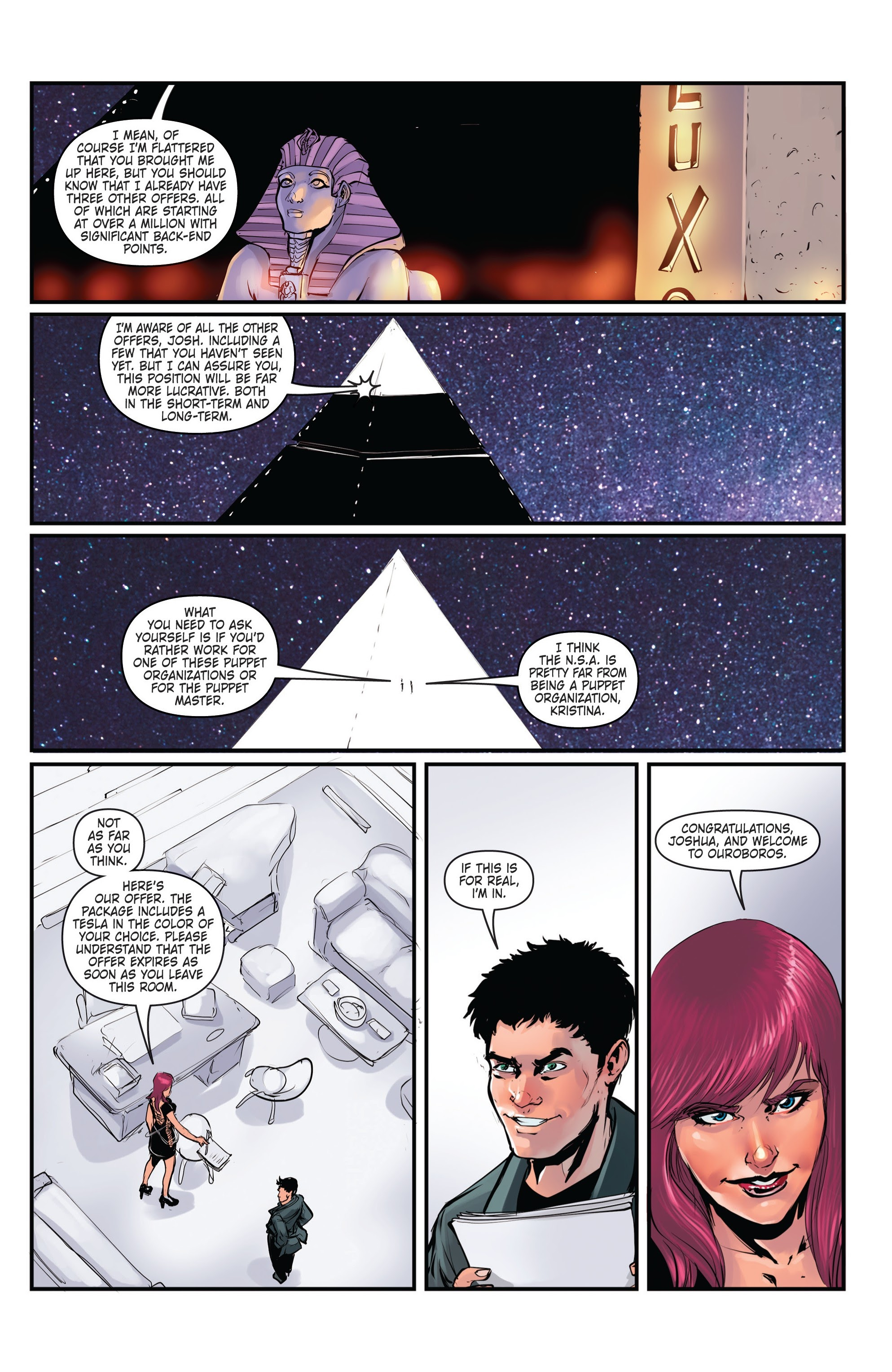 Conspiracy #4 #4 - English 14