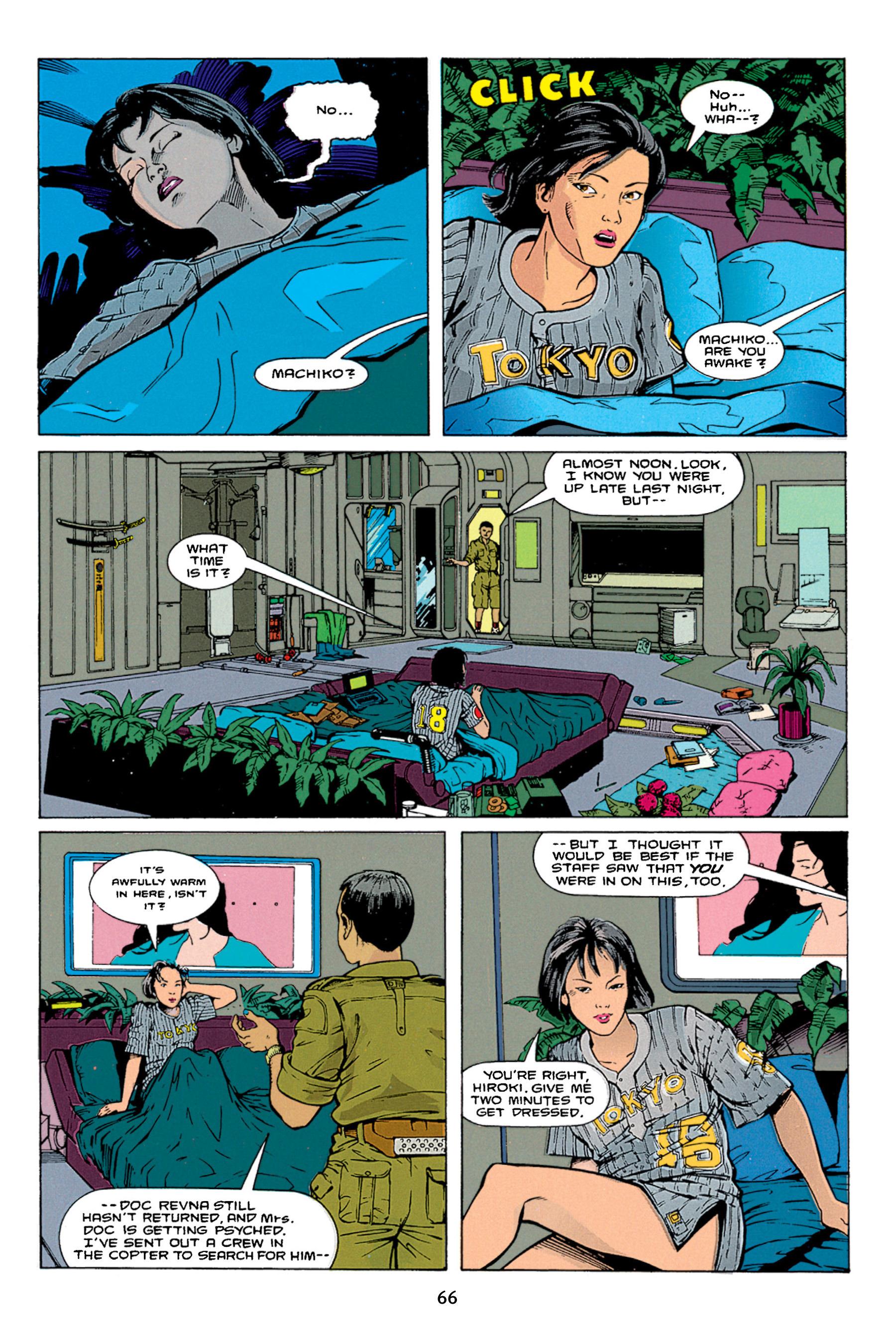 Read online Aliens vs. Predator Omnibus comic -  Issue # _TPB 1 Part 1 - 66