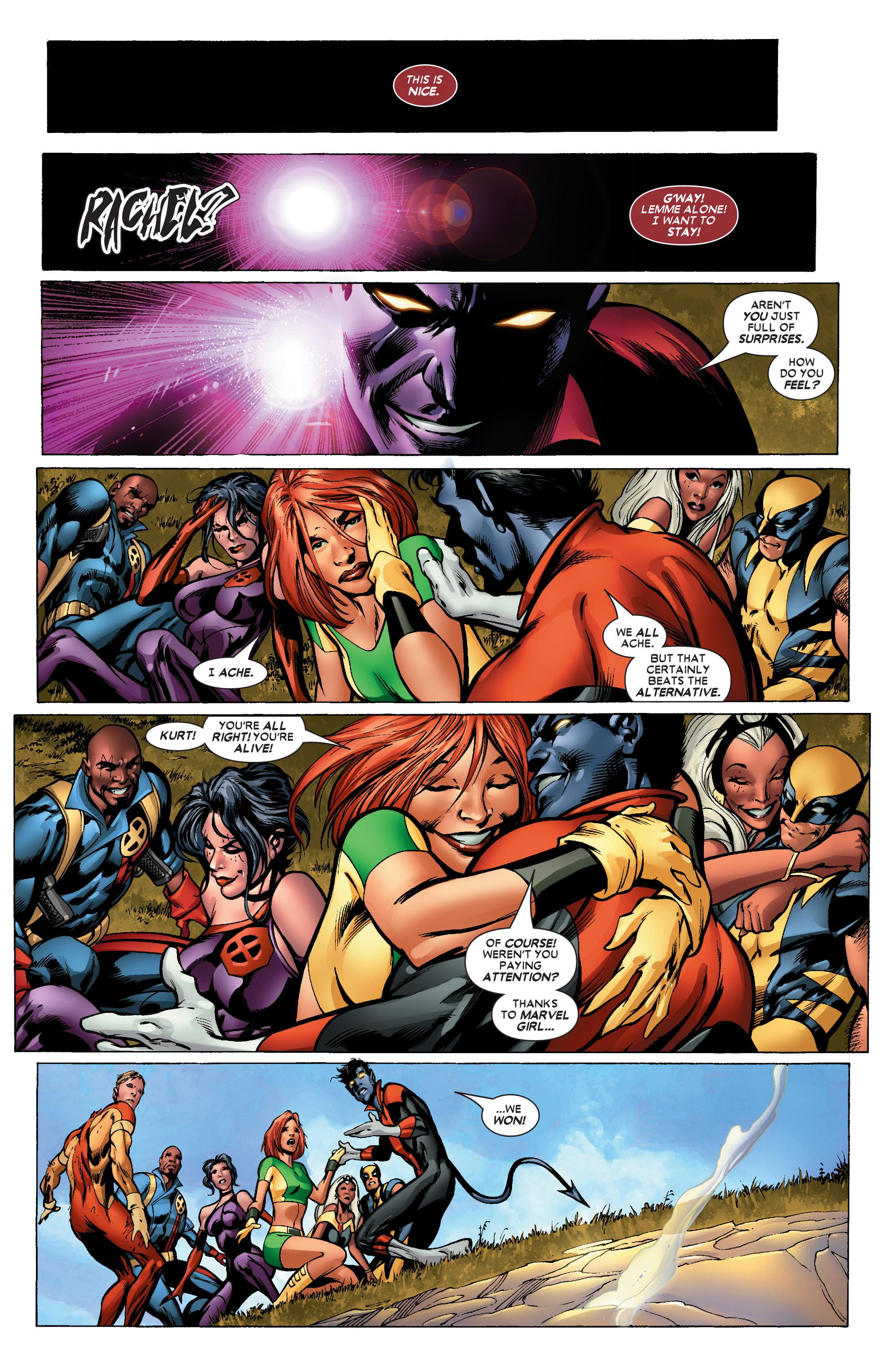 Read online Uncanny X-Men (1963) comic -  Issue #447 - 23