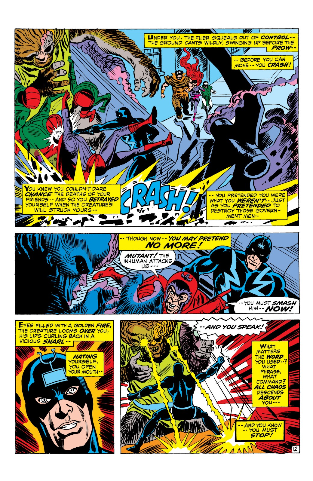 Read online Marvel Masterworks: The Inhumans comic -  Issue # TPB 1 (Part 2) - 90