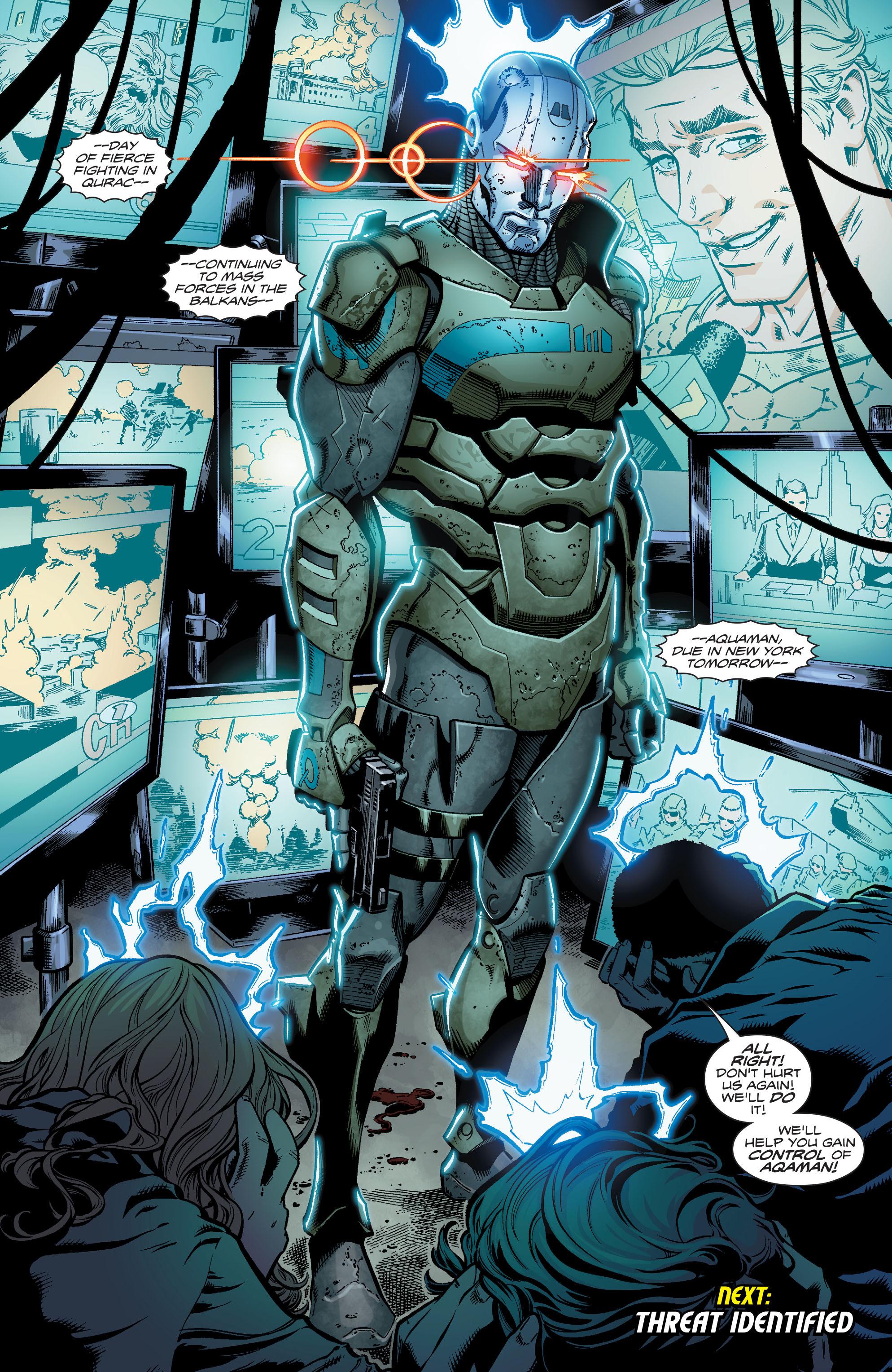 Read online Aquaman (2016) comic -  Issue #16 - 23