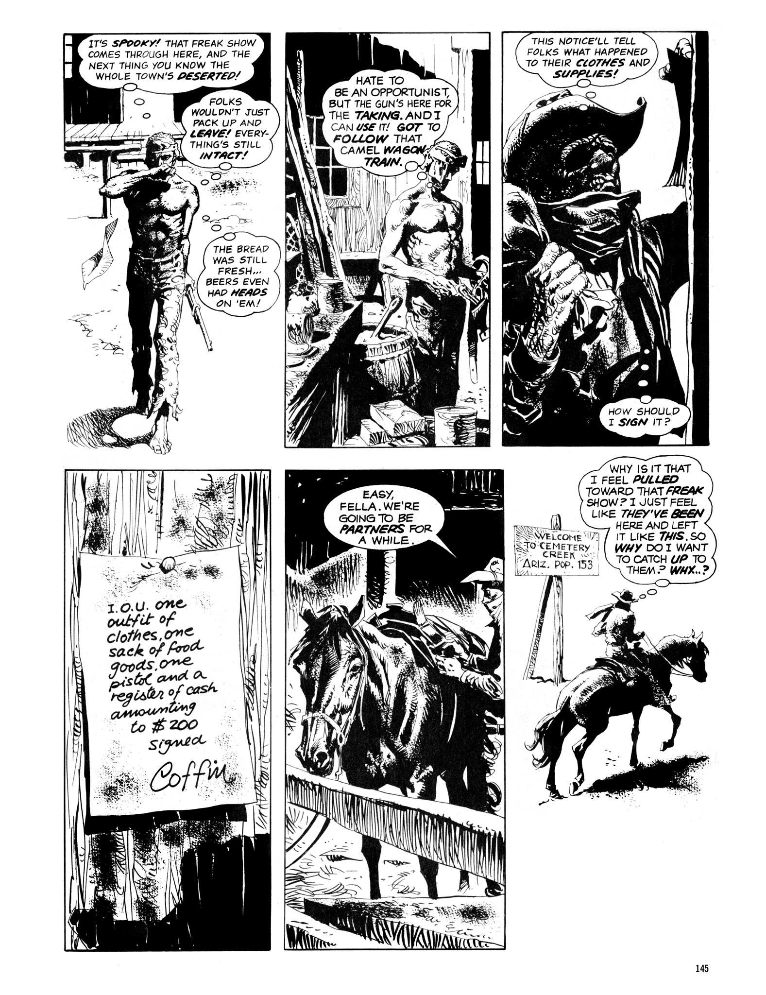 Read online Eerie Archives comic -  Issue # TPB 14 - 146