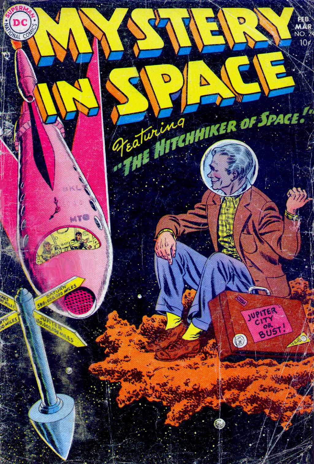 Mystery in Space (1951) issue 24 - Page 1