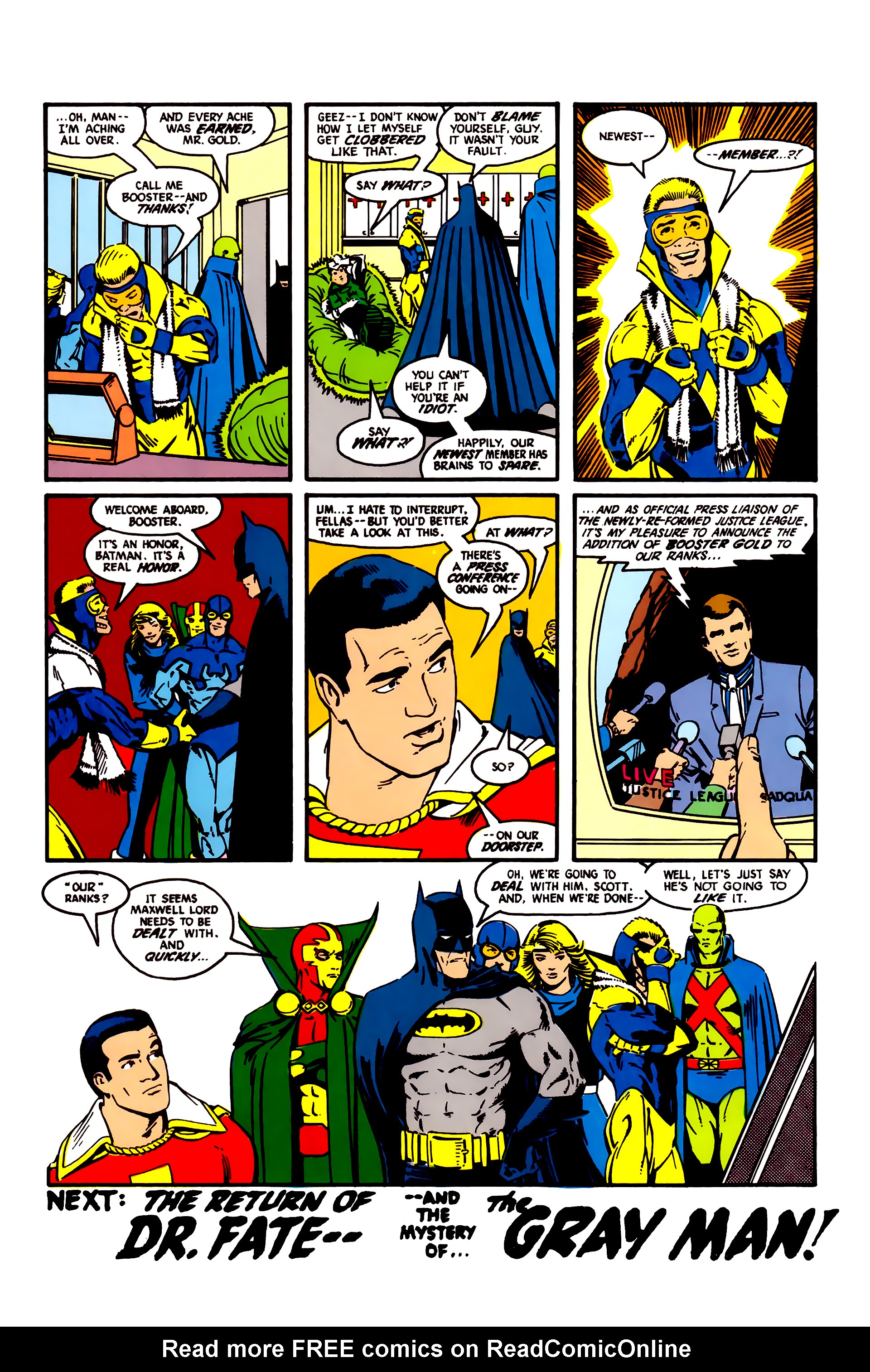 Read online Justice League (1987) comic -  Issue #4 - 23