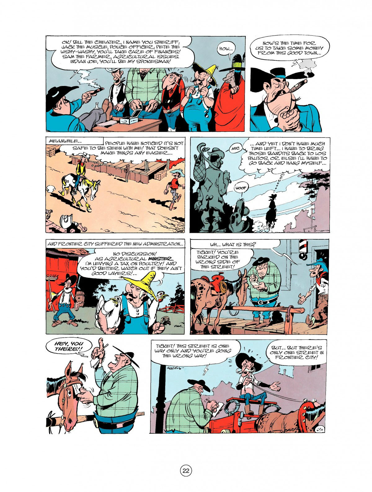 Read online A Lucky Luke Adventure comic -  Issue #27 - 23