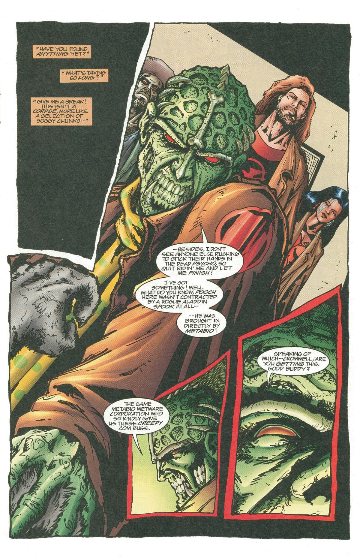 Read online UltraForce (1995) comic -  Issue #7 - 14
