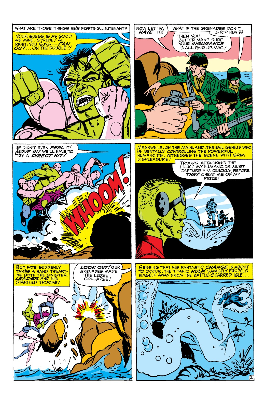Read online Marvel Masterworks: The Incredible Hulk comic -  Issue # TPB 2 (Part 1) - 81