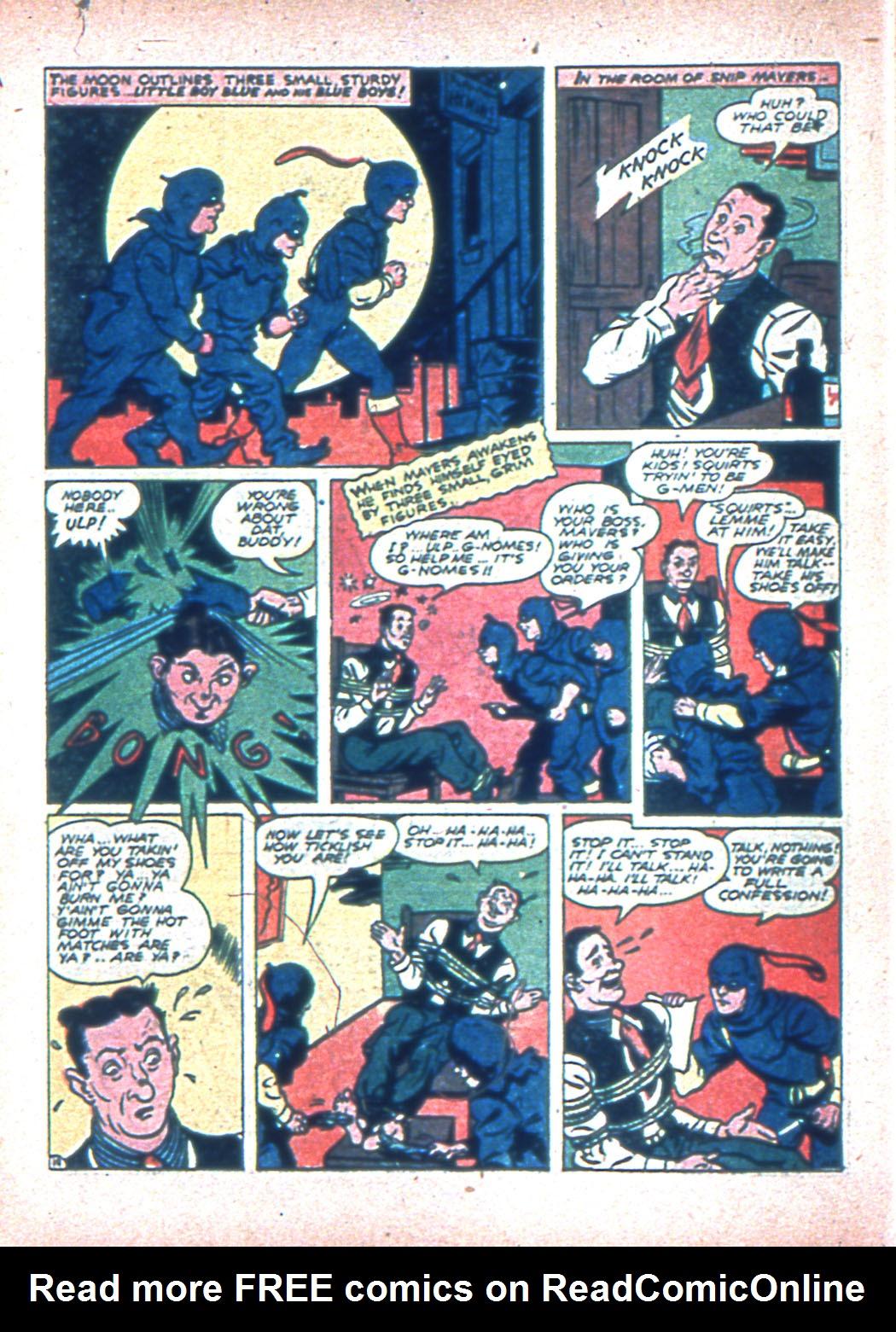 Read online Sensation (Mystery) Comics comic -  Issue #2 - 52