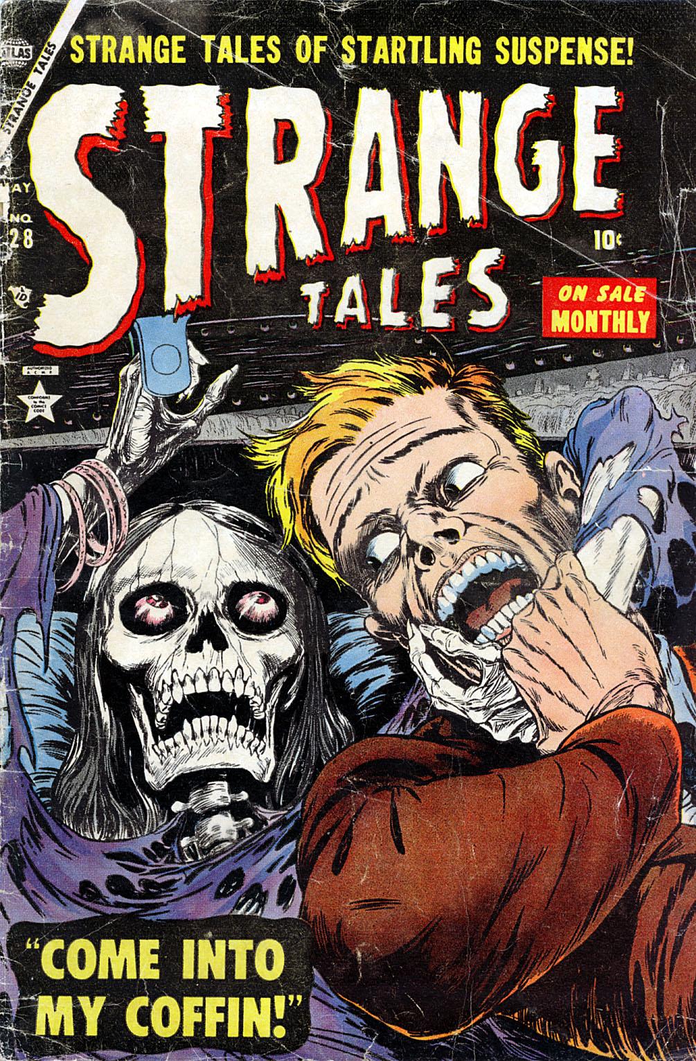 Strange Tales (1951) 28 Page 1