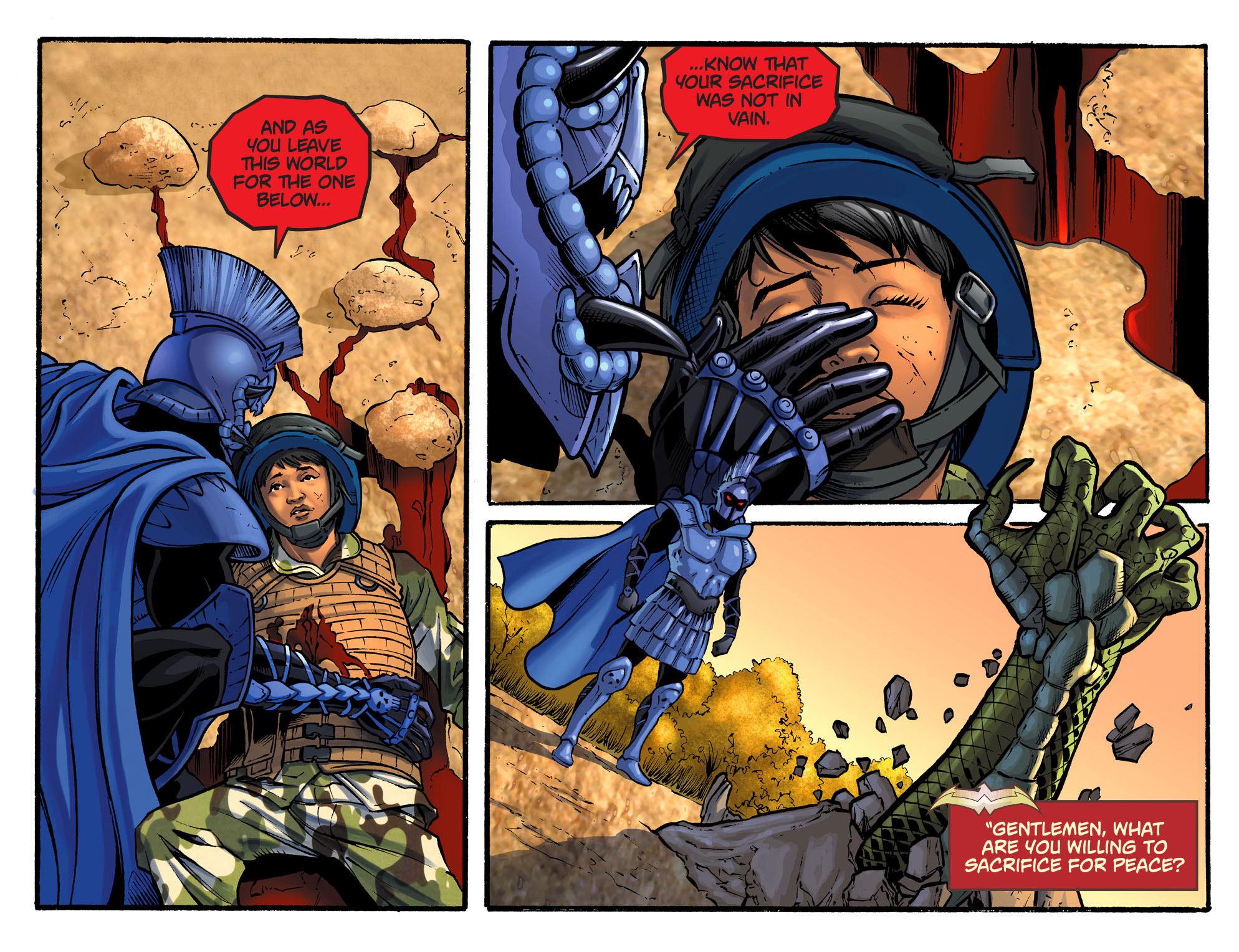 Read online Sensation Comics Featuring Wonder Woman comic -  Issue #34 - 10