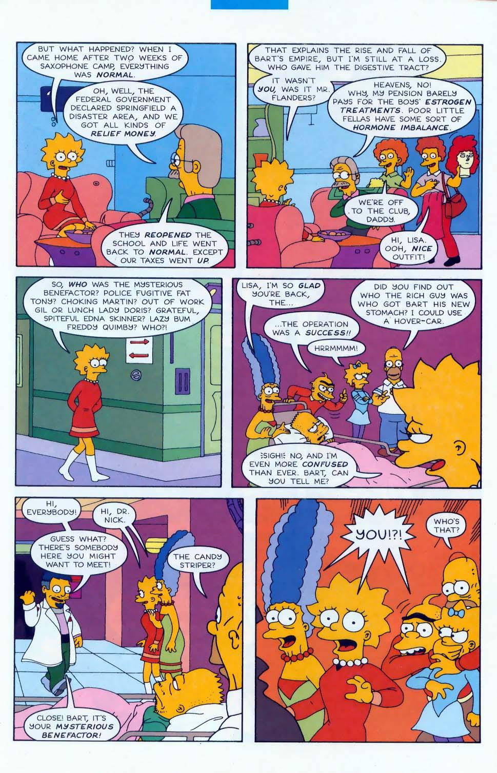 Read online Simpsons Comics comic -  Issue #47 - 20