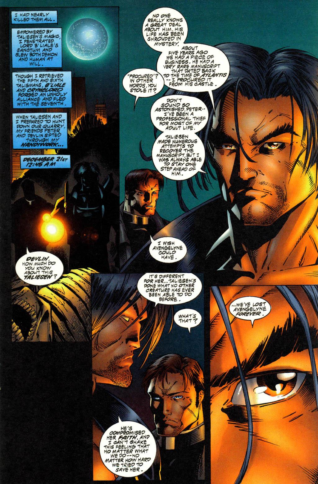 Read online Avengelyne (1996) comic -  Issue #12 - 3