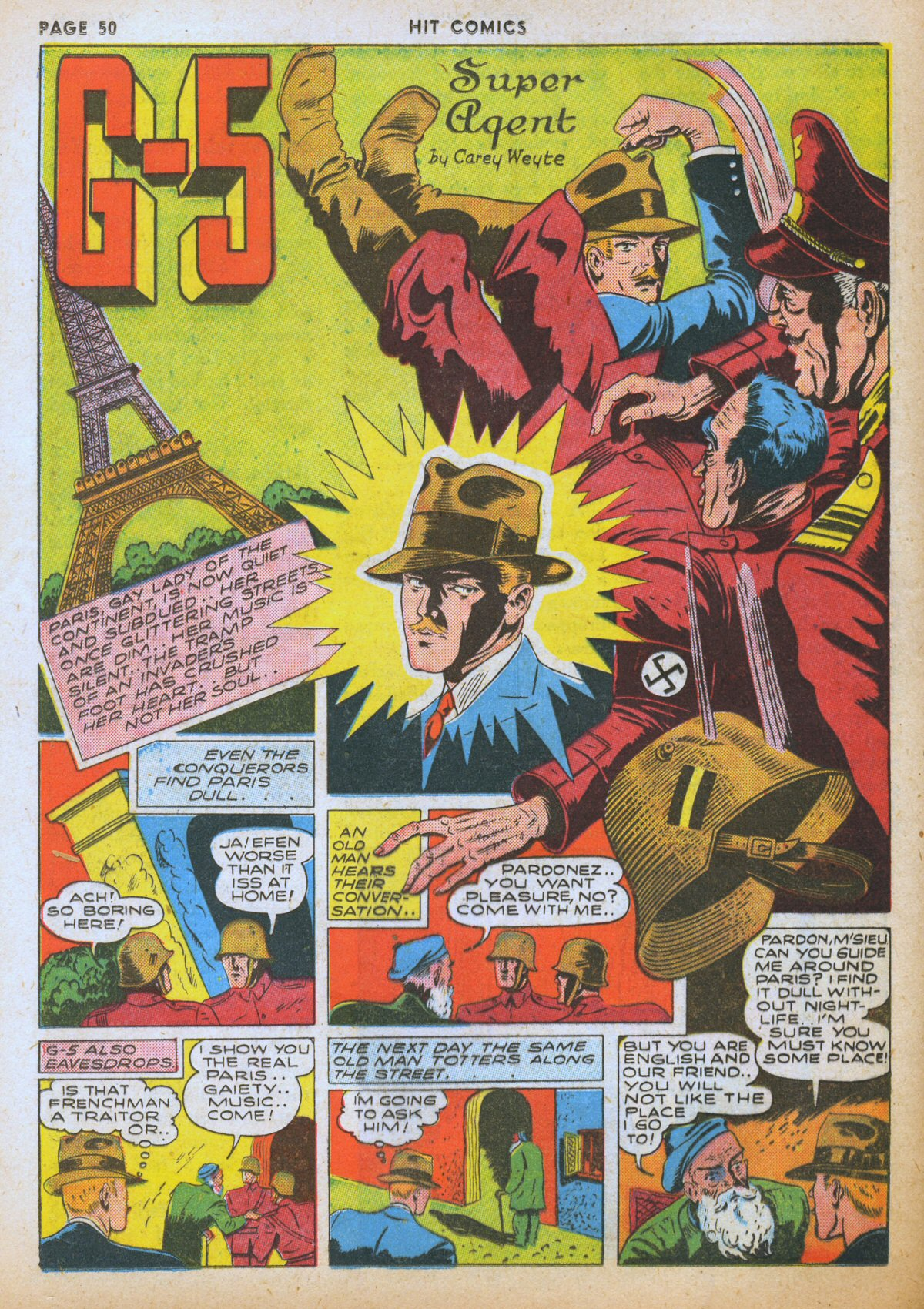Read online Hit Comics comic -  Issue #12 - 52
