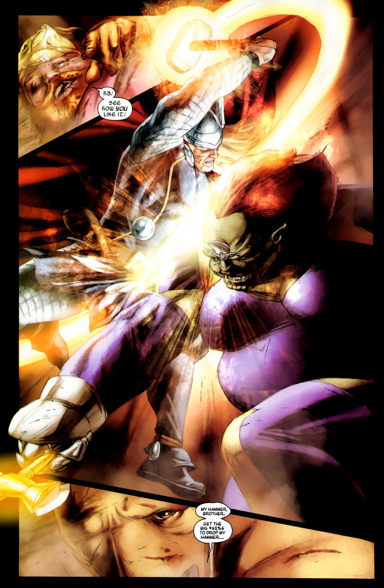 Read online Secret Invasion: Thor comic -  Issue #3 - 8
