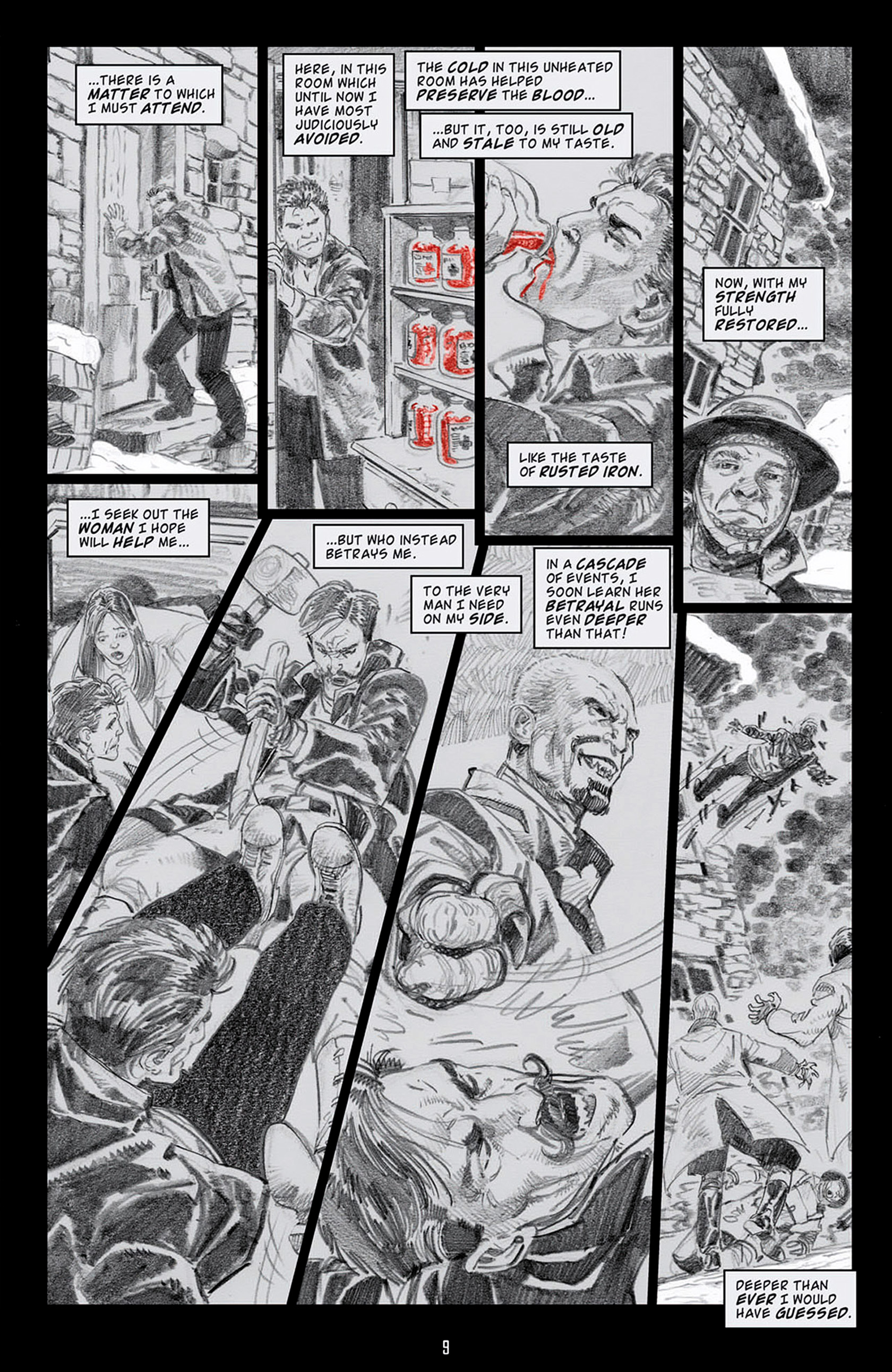 Read online Angel: Blood & Trenches comic -  Issue #4 - 12