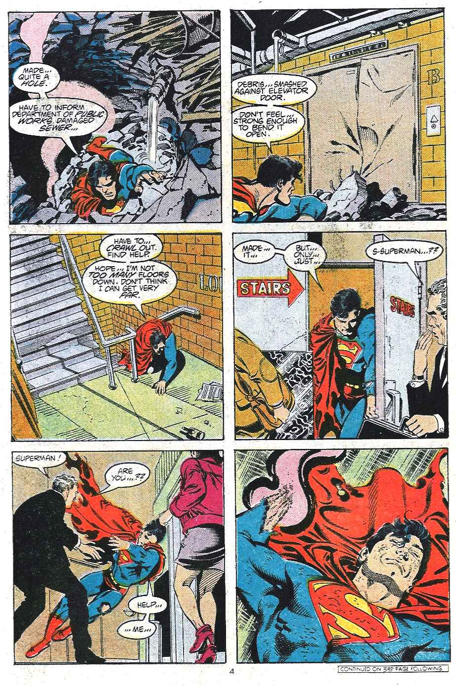 Read online Adventures of Superman (1987) comic -  Issue #439 - 5