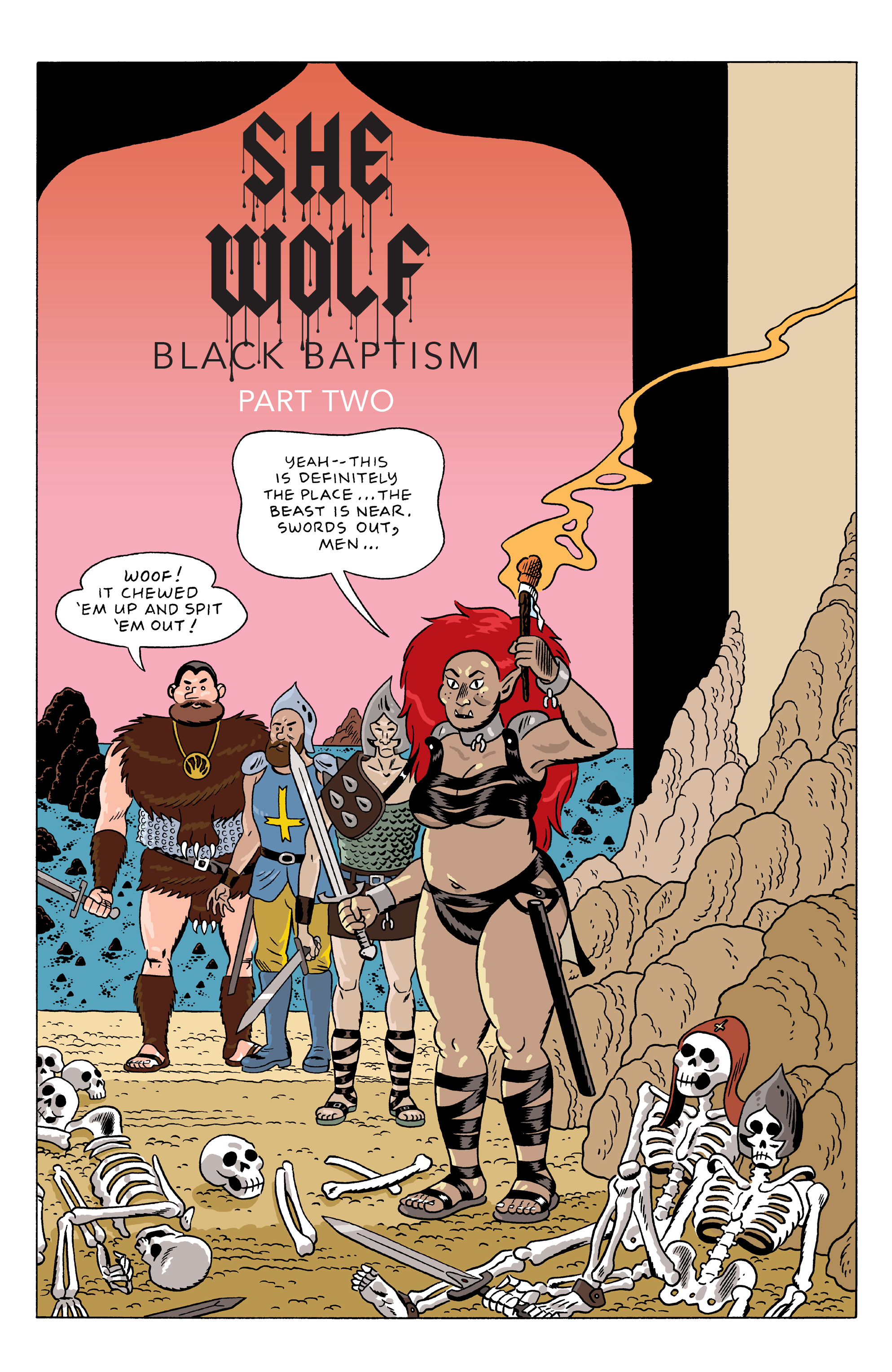 Read online She Wolf comic -  Issue #5 - 12