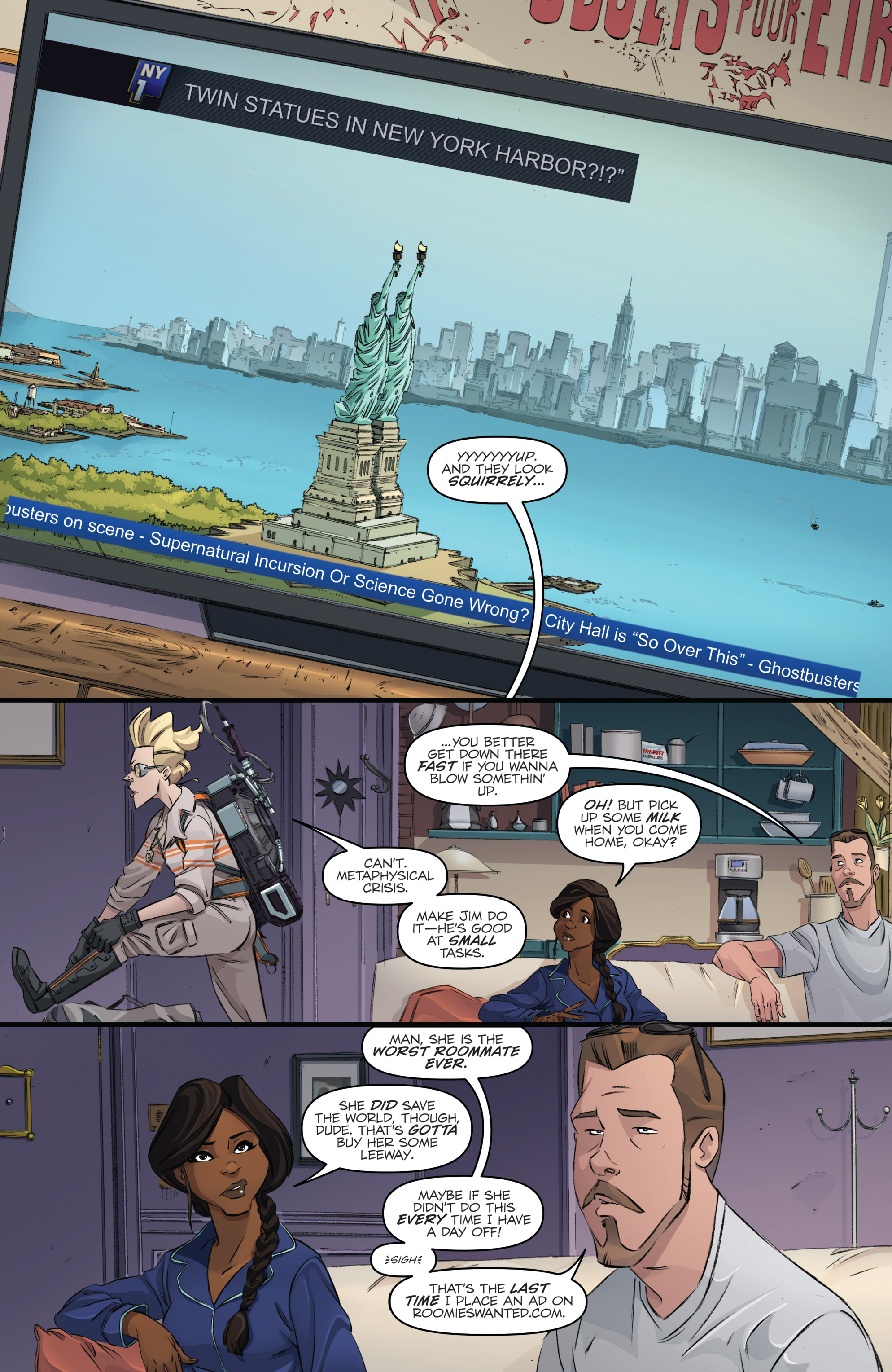 Read online Ghostbusters 101 comic -  Issue #3 - 11