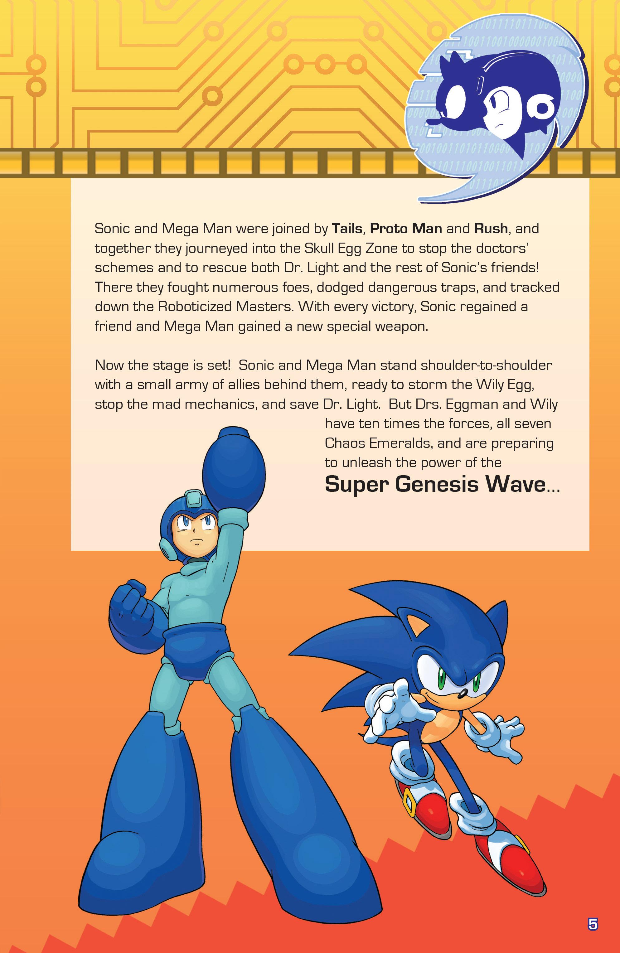 Read online Sonic Mega Man Worlds Collide comic -  Issue # Vol 3 - 5