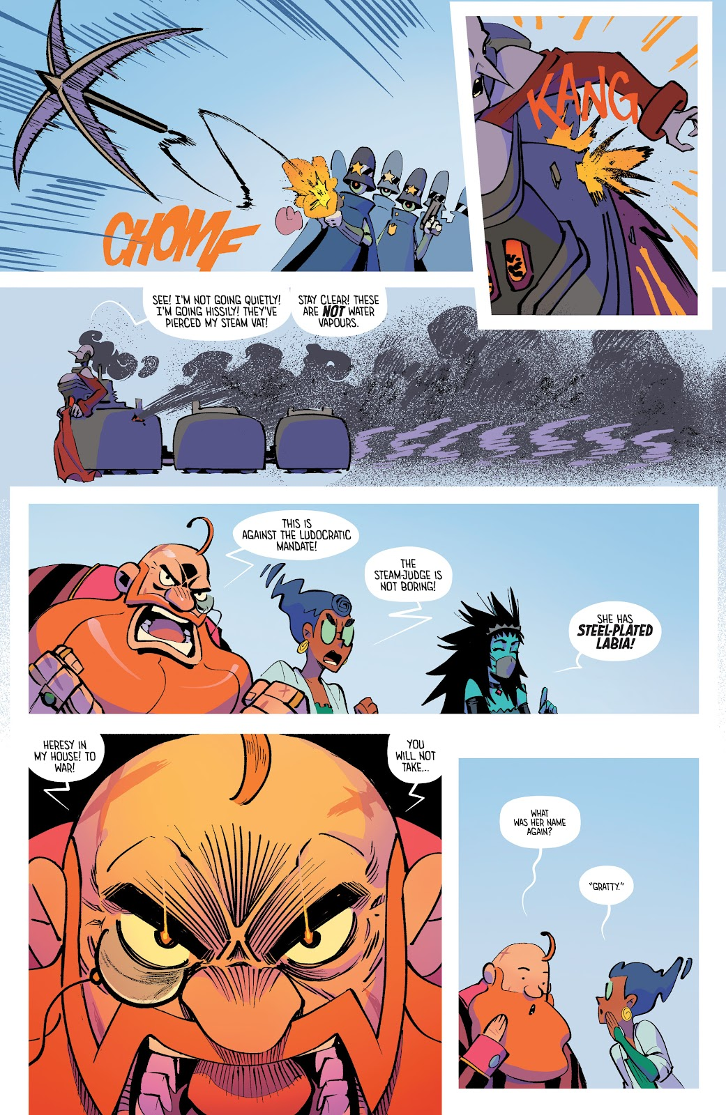 Read online The Ludocrats comic -  Issue #1 - 20