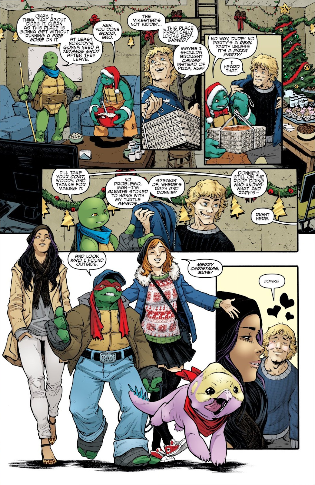 Read online Teenage Mutant Ninja Turtles: The IDW Collection comic -  Issue # TPB 8 (Part 3) - 34