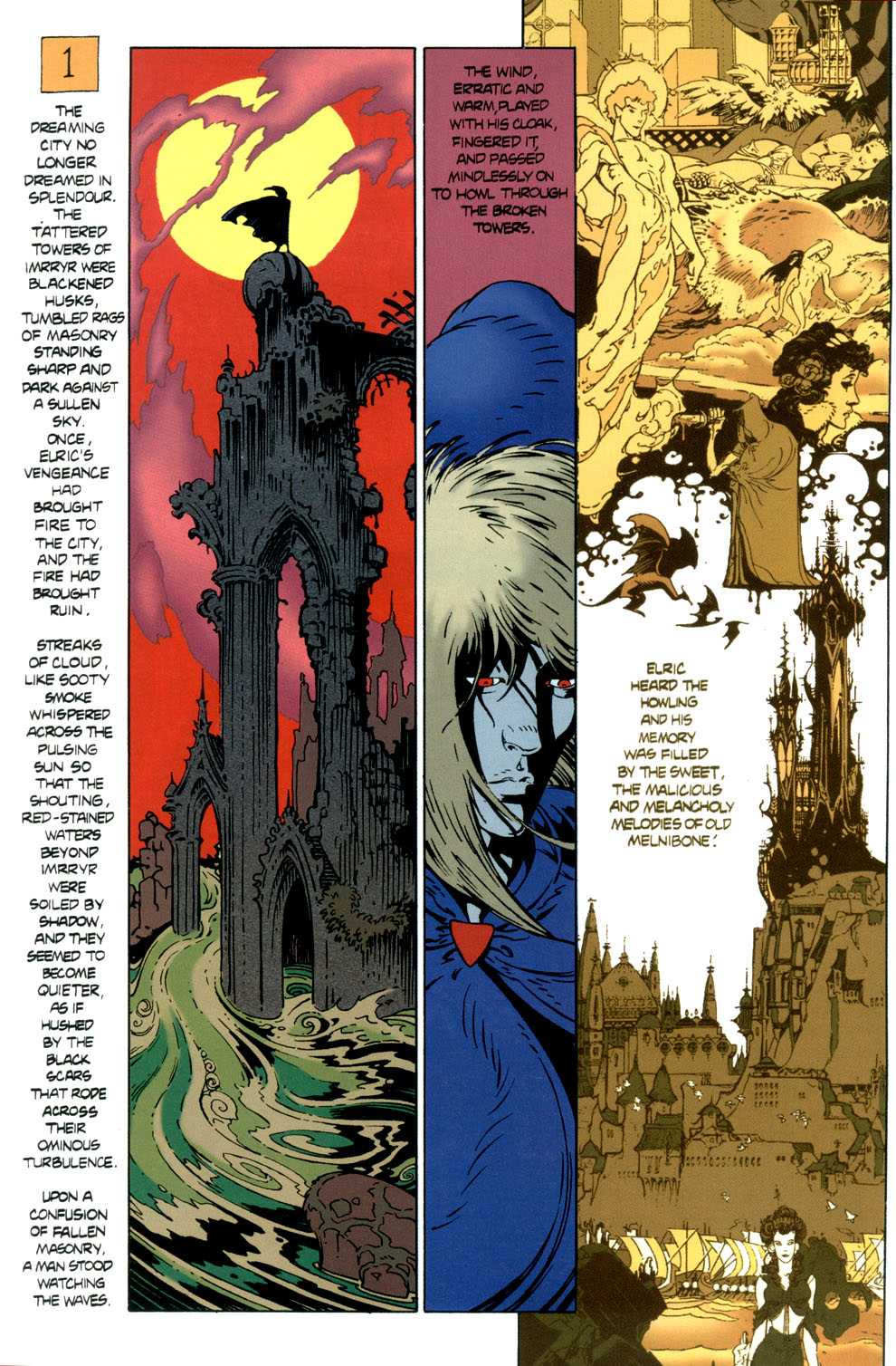 Read online Elric: Stormbringer comic -  Issue #6 - 4