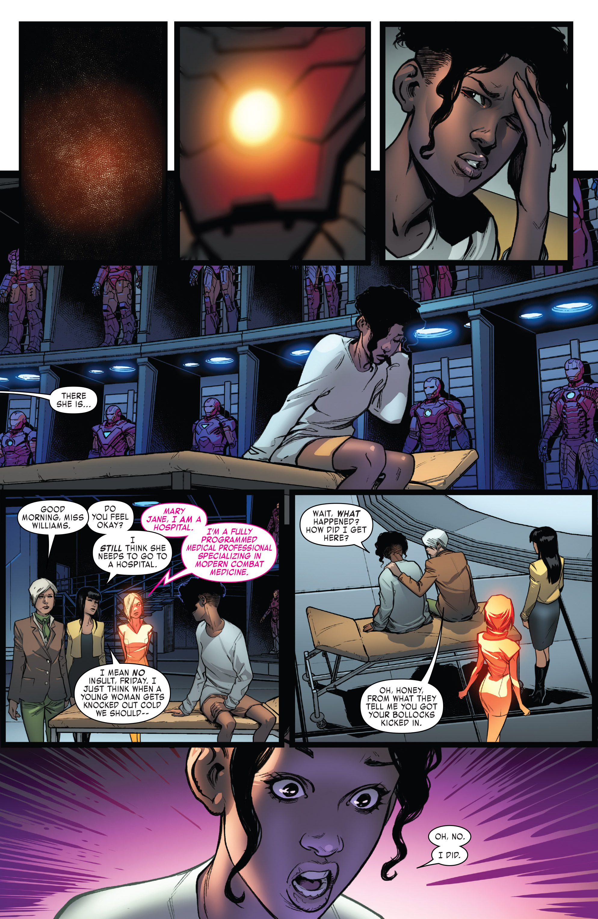 Read online Invincible Iron Man (2016) comic -  Issue #7 - 11