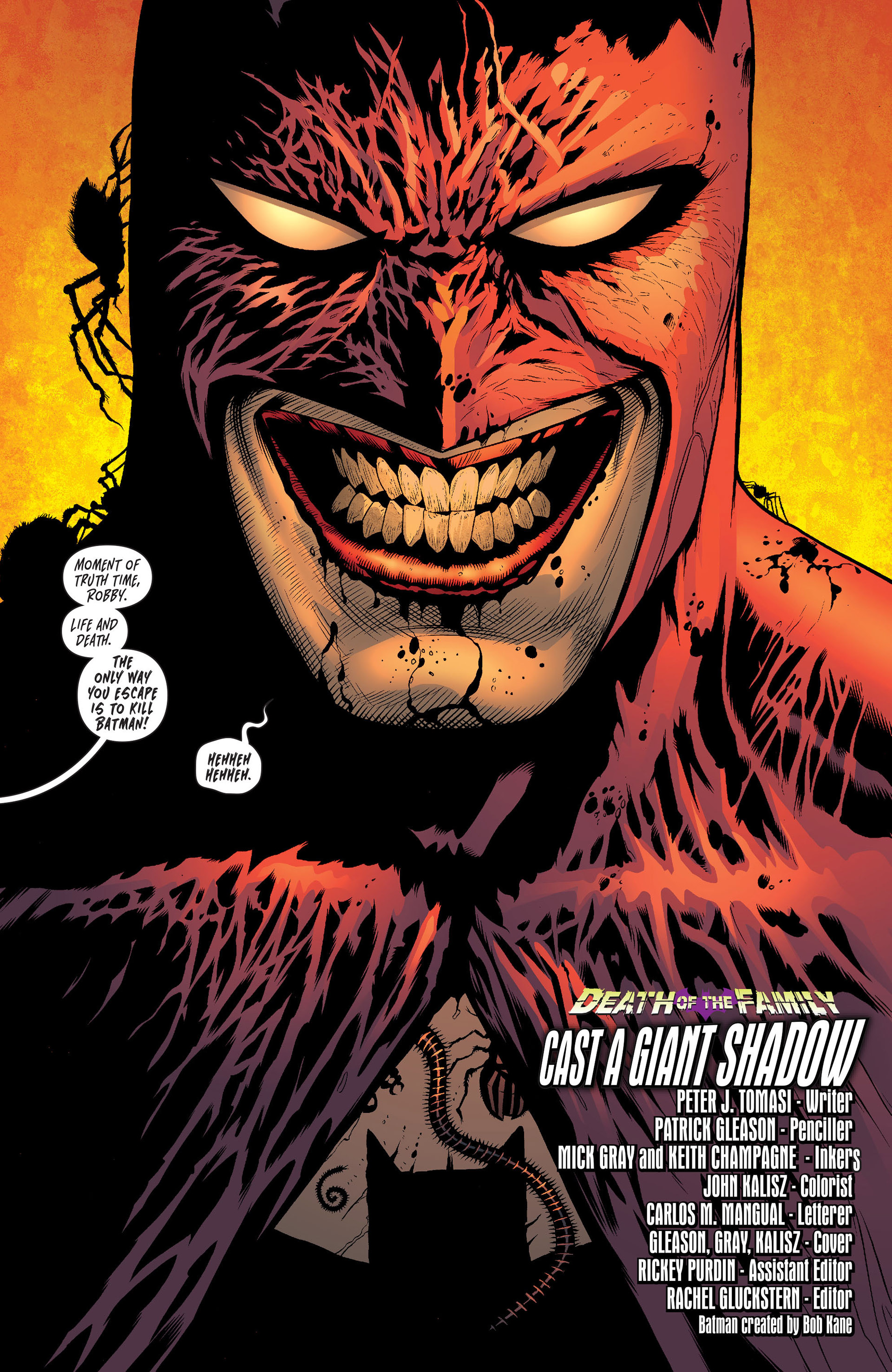 Read online Batman and Robin (2011) comic -  Issue #16 - 3