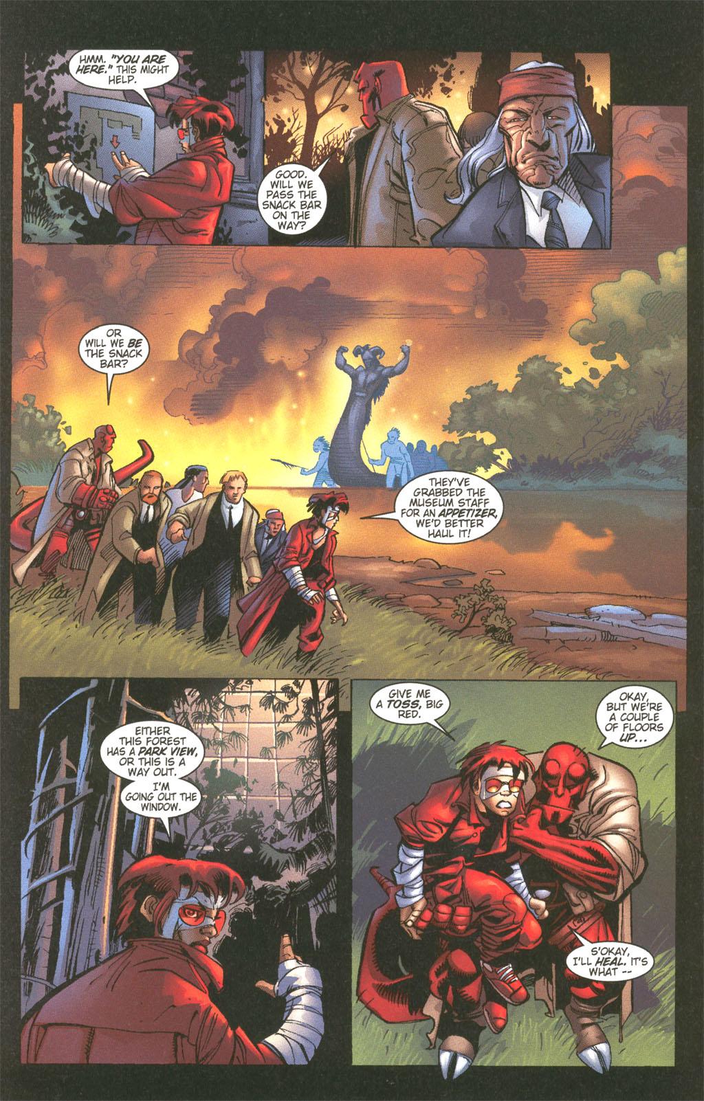 Read online Painkiller Jane/Hellboy comic -  Issue # Full - 18