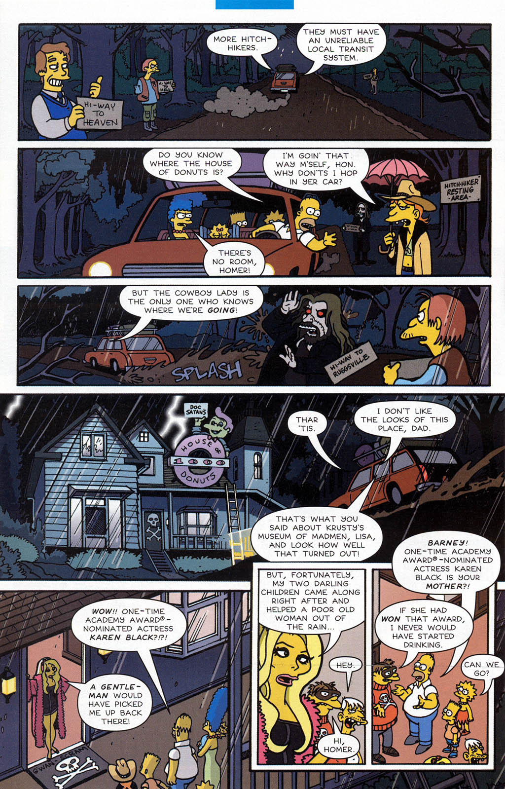 Read online Treehouse of Horror comic -  Issue #10 - 35